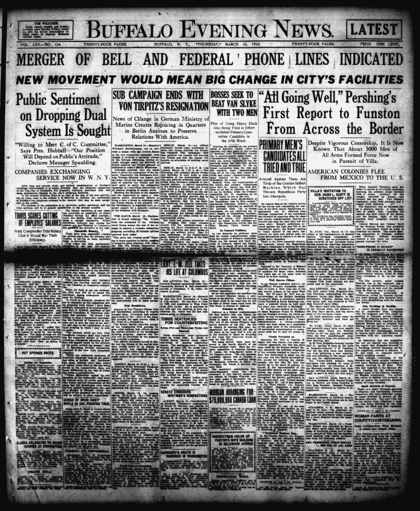 March 16 1916
