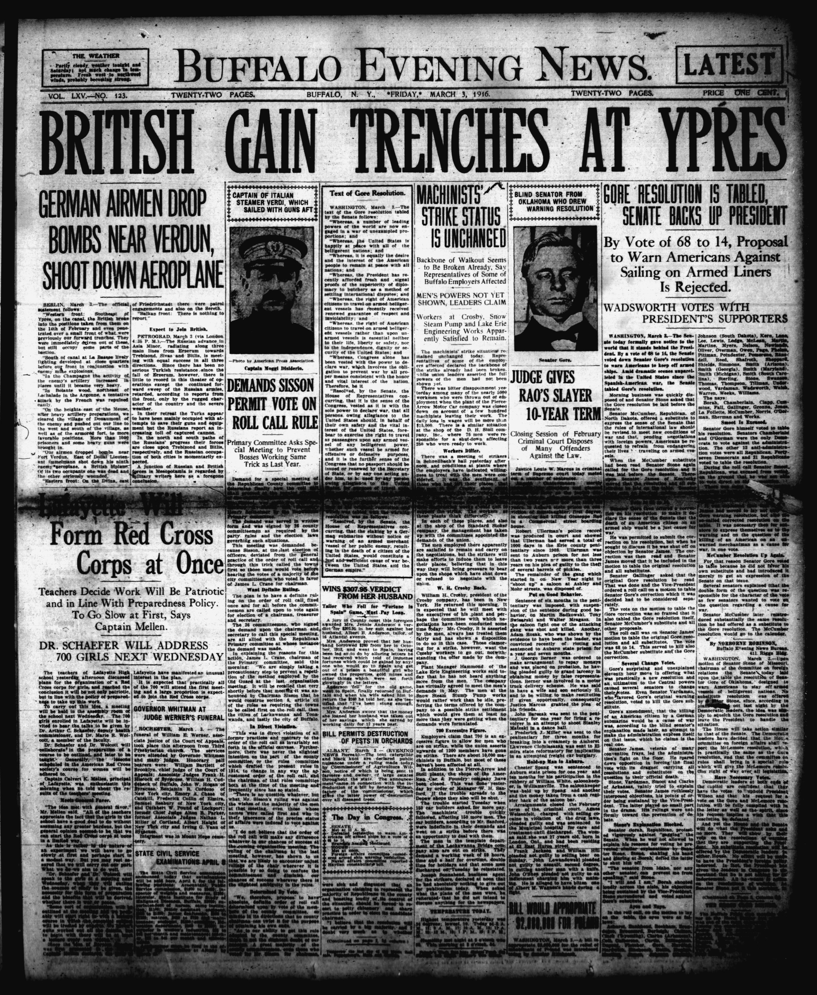 March 3 1916
