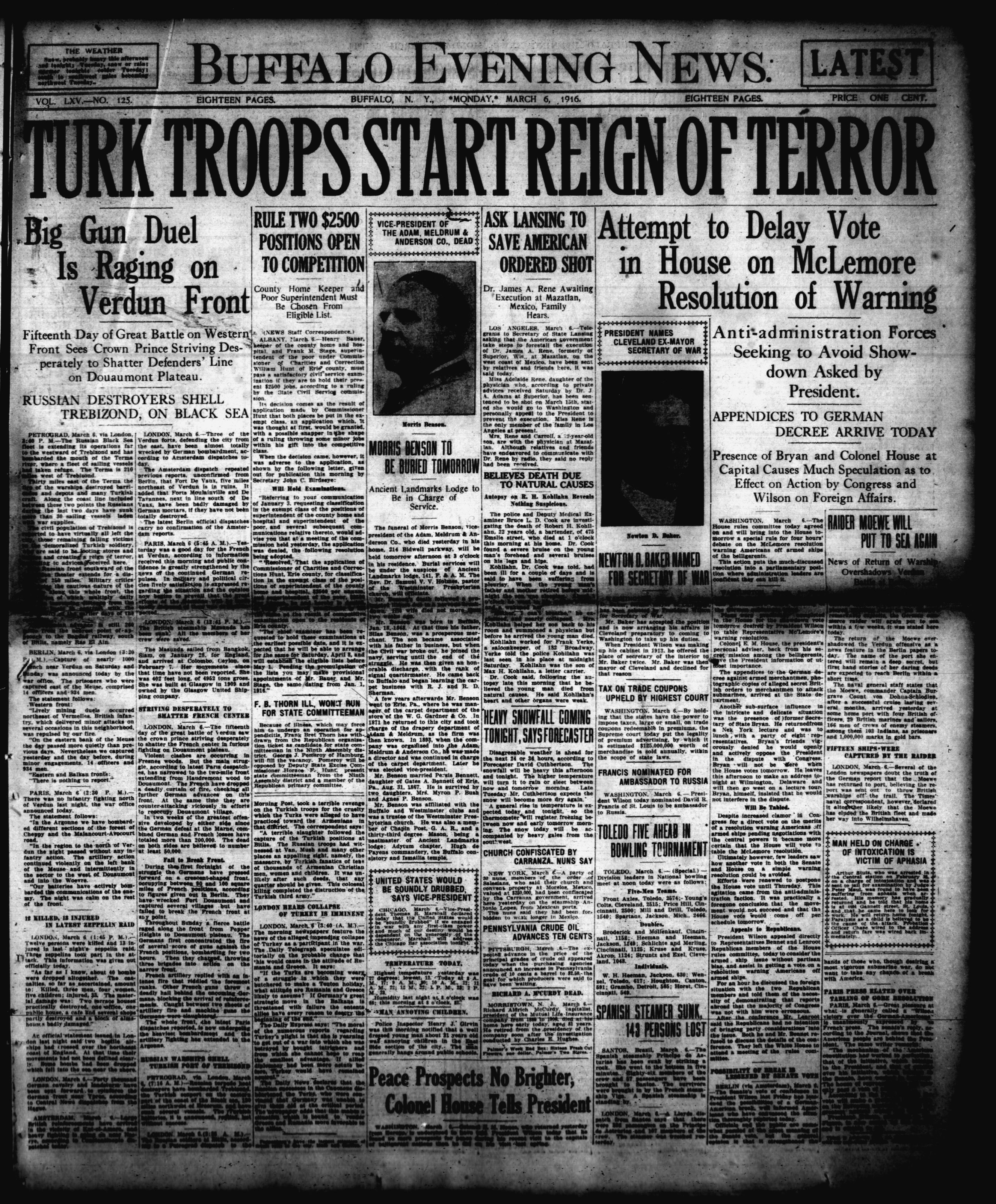 March 6 1915