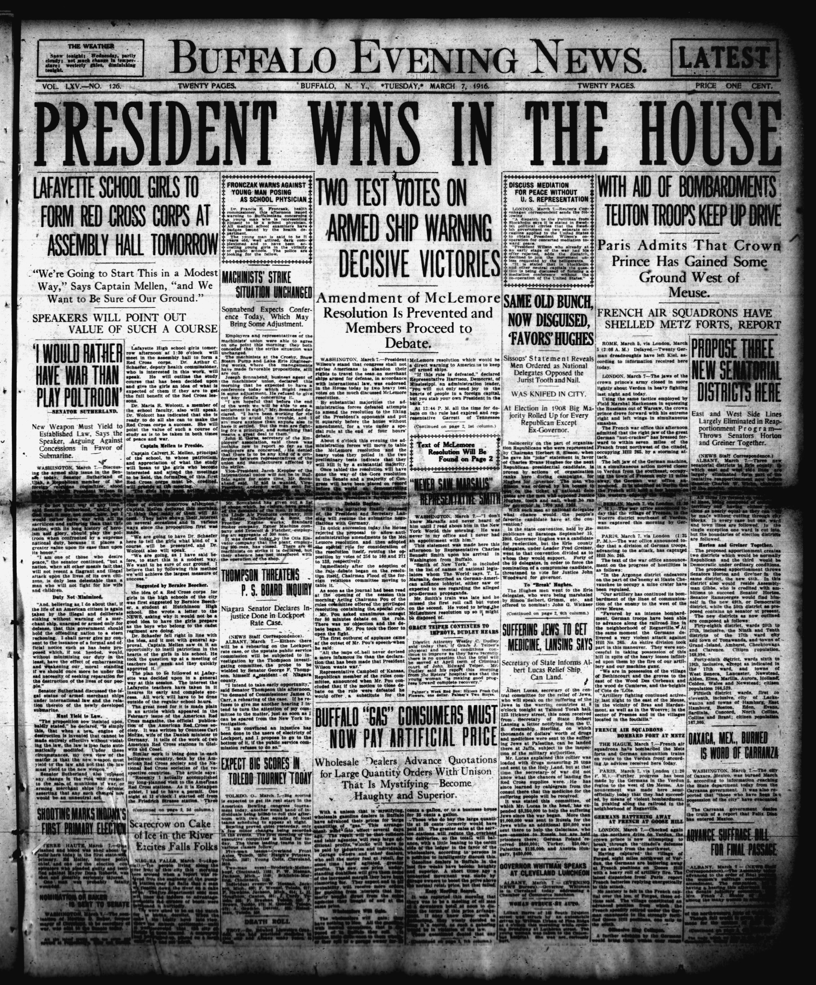 March 7 1916