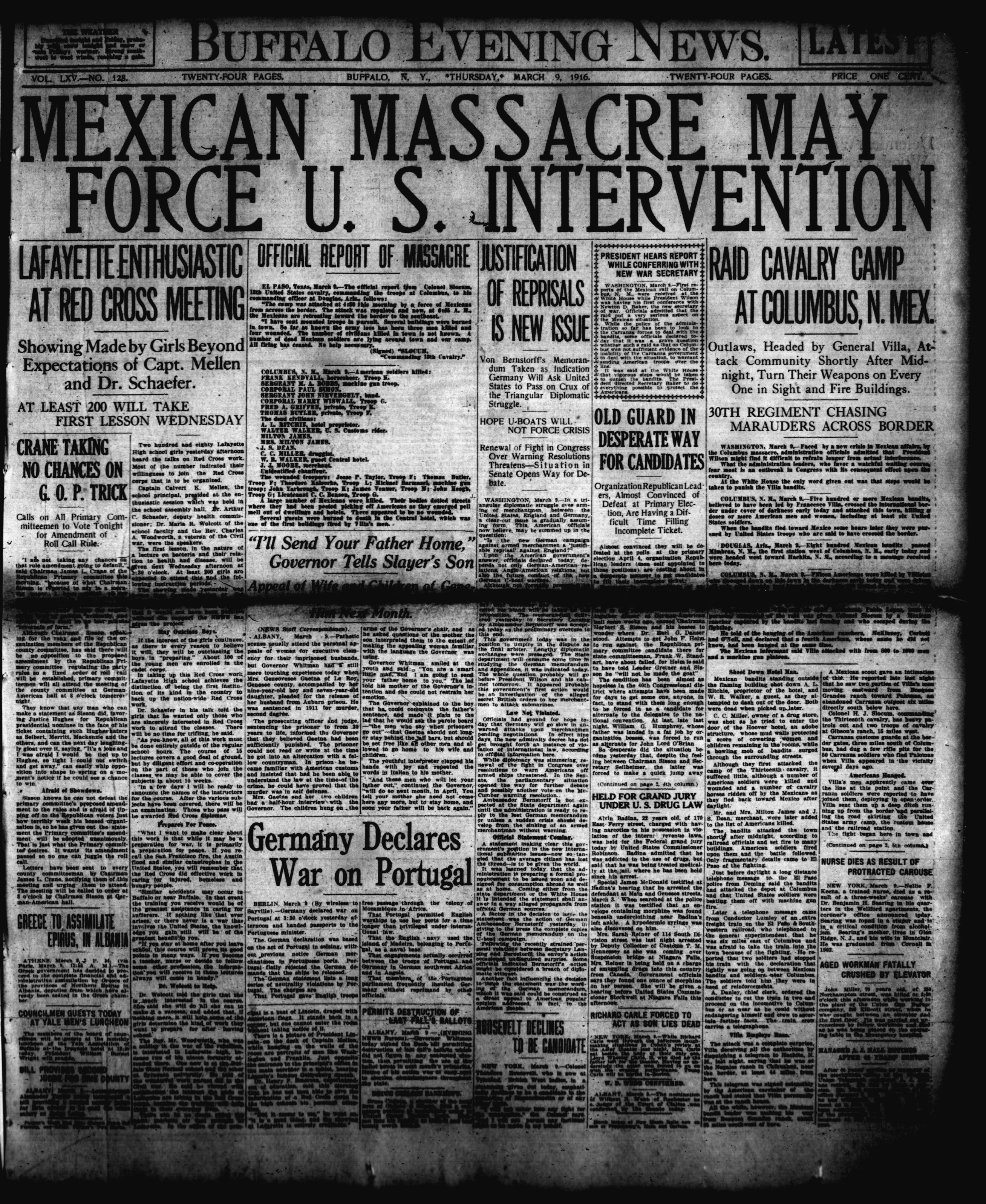 March 9 1916