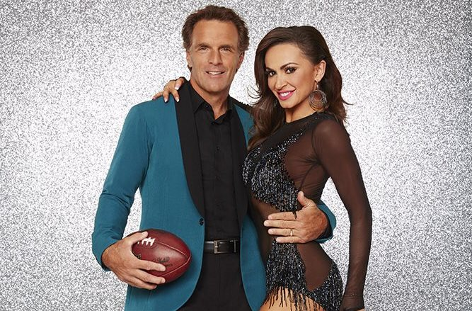 Former Bills quarterback Doug Flutie joins the 'Dancing With the Stars' cast. Karina Smirnoff is his dancing partner. (Photo courtesy ABC)