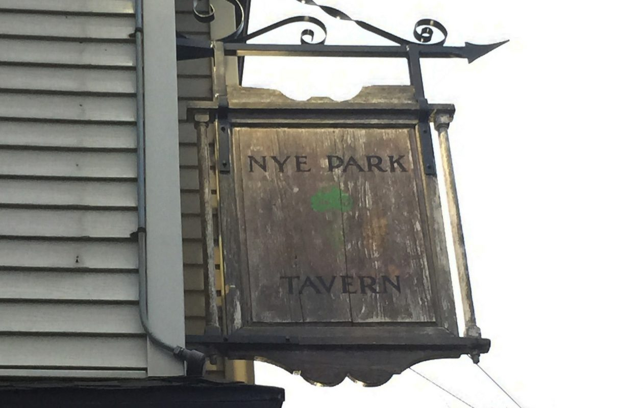 Nye Park Tavern's new ownership is changing the menu and interior. (Andrew Galarneau/Buffalo News)