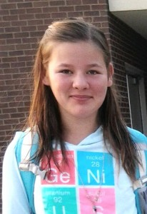 Willow Daly-Griffen, of South Dayton, is a Tourette Association of America youth ambassador.