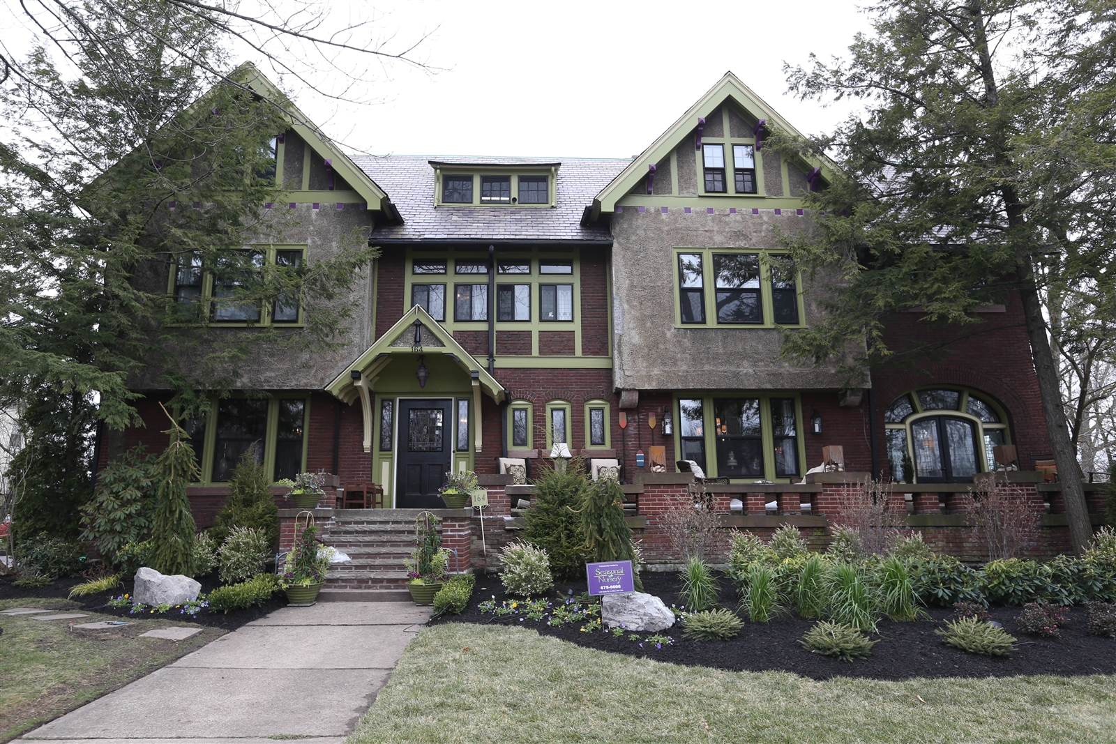 Torn Space Theater will receive $275,000 from the 2015 Junior League Show House project, raised from visitor admissions to the Edward H. Webster home, above, on Lincoln Parkway.