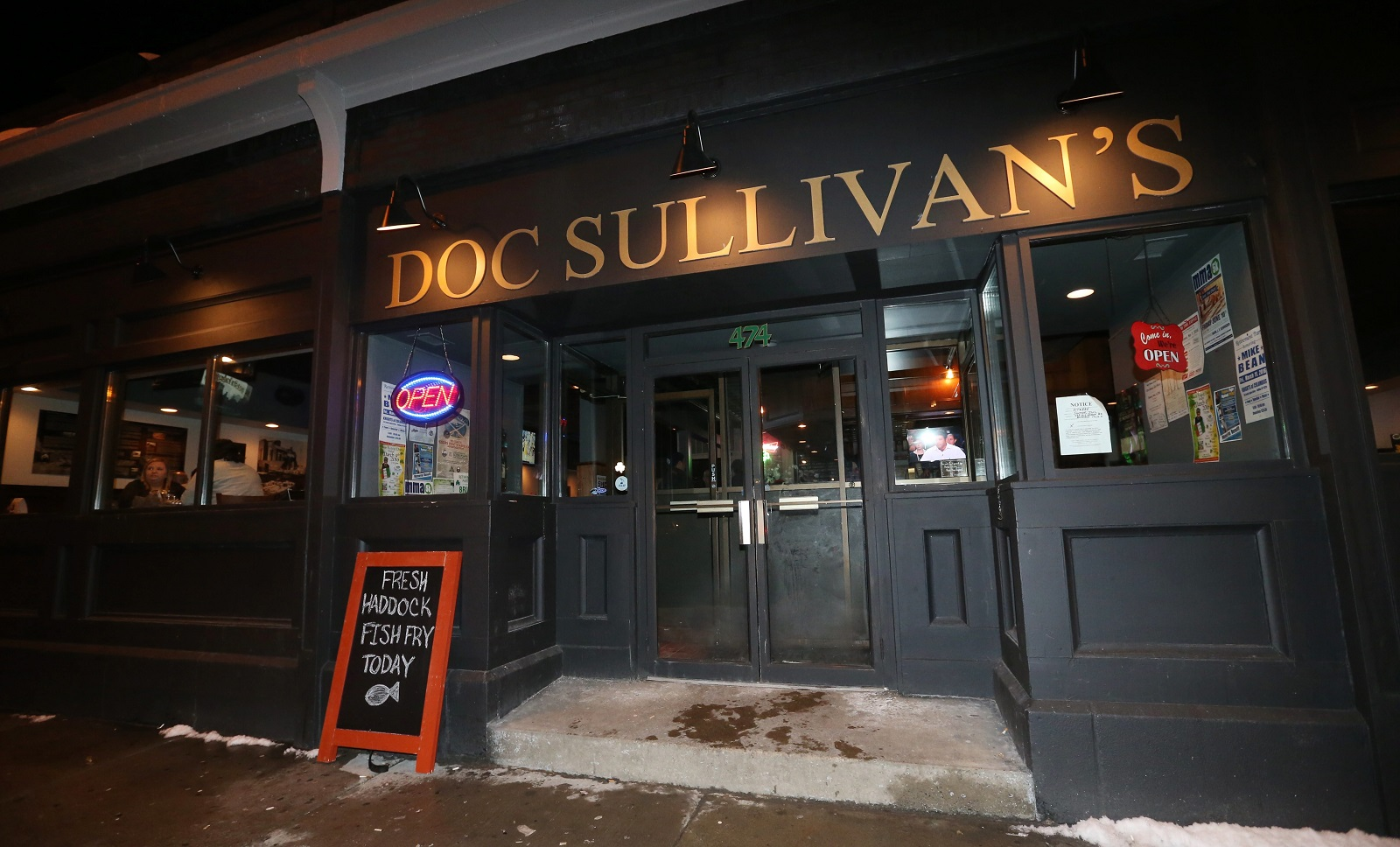 Doc Sullivan's is at 474 Abbott Road. (Sharon Cantillon/Buffalo News)