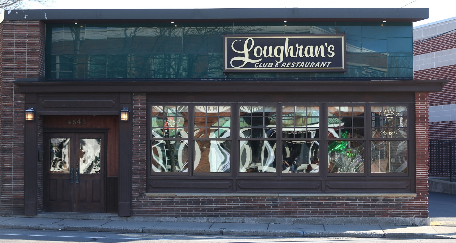 Loughran's is at 4543 Main St. in Snyder. (Sharon Cantillon/Buffalo News)