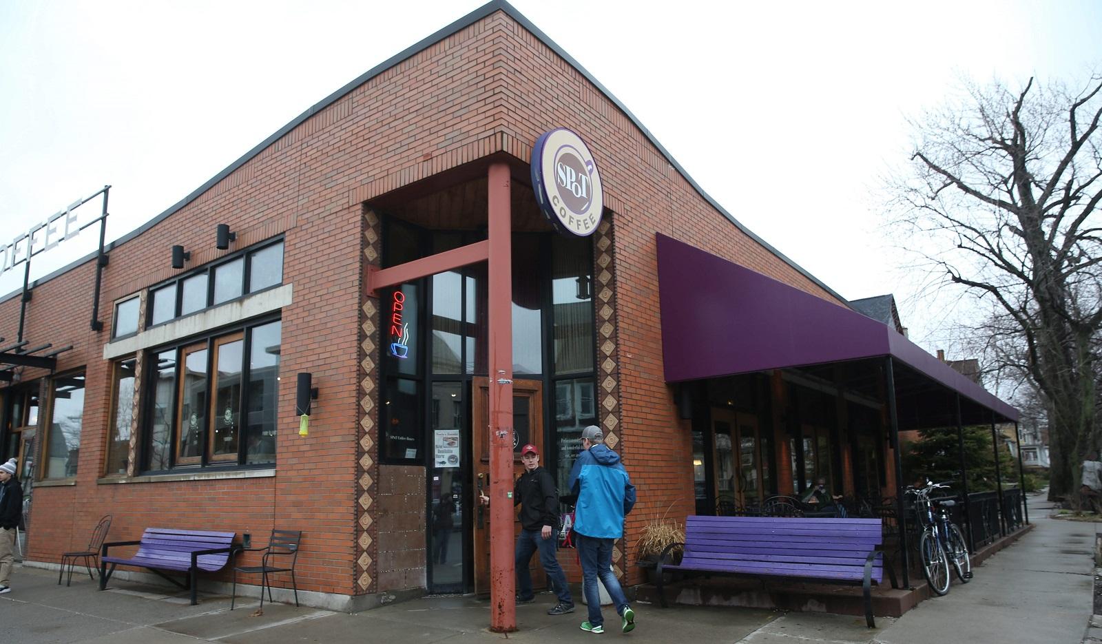 Spot Coffee's location at 765 Elmwood Ave. (Sharon Cantillon/Buffalo News)
