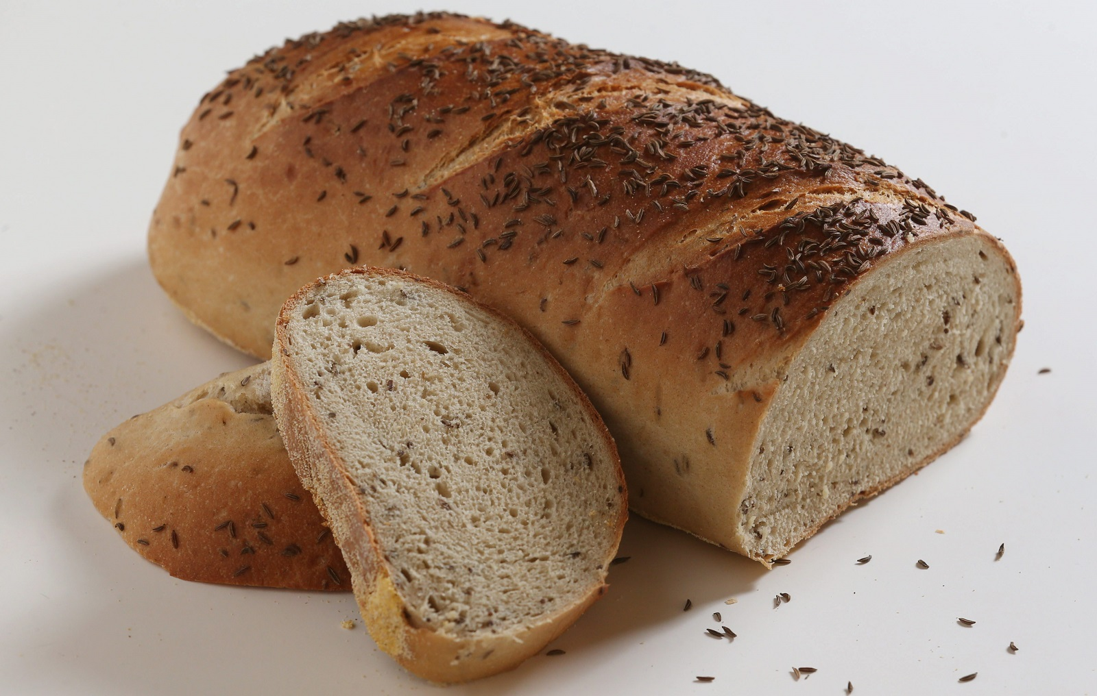 Mazurek's Bakery makes a 2-pound NY rye bread. (Sharon Cantillon/Buffalo News)