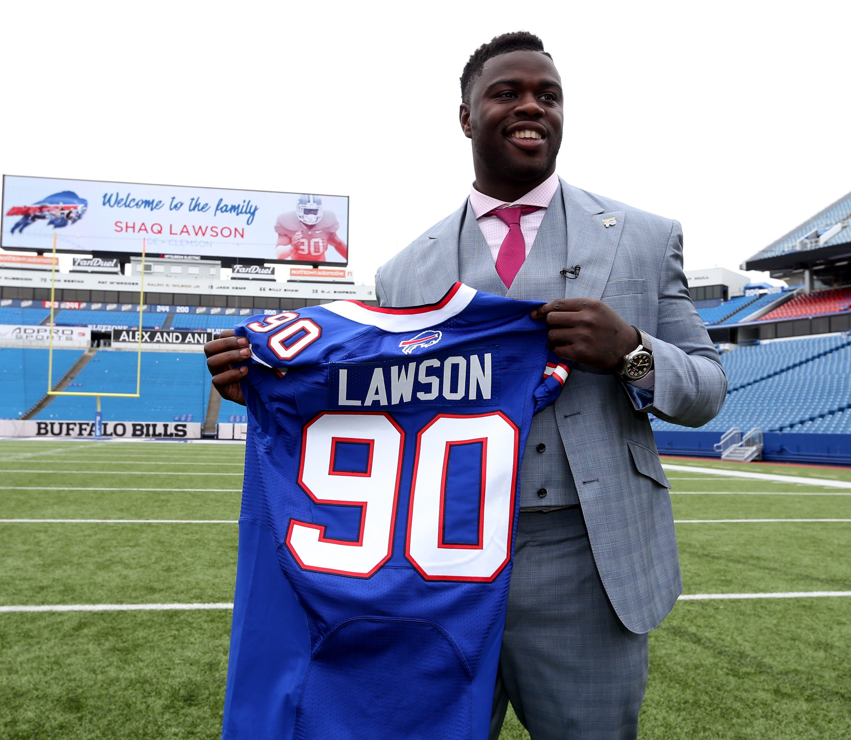 shaq lawson buffalo bills jersey