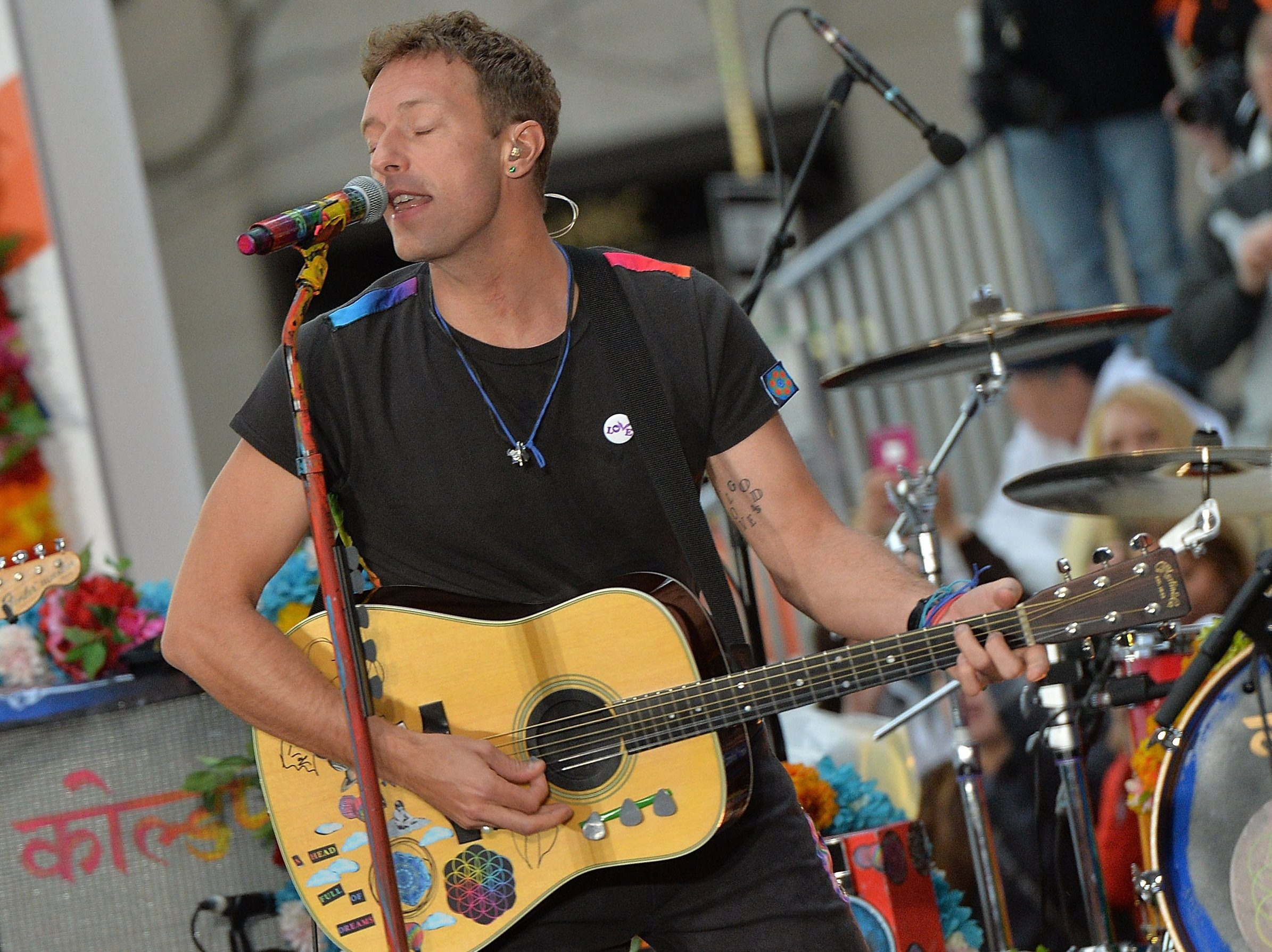 Chris Martin and Coldplay will perform Aug. 1 in First Niagara Center. General public on-sale for tickets to the show starts Friday. (Getty Images)