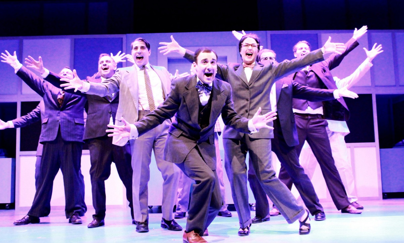 "MusicalFare Theatre's ""How to Succeed in Business Without Really Trying.'"