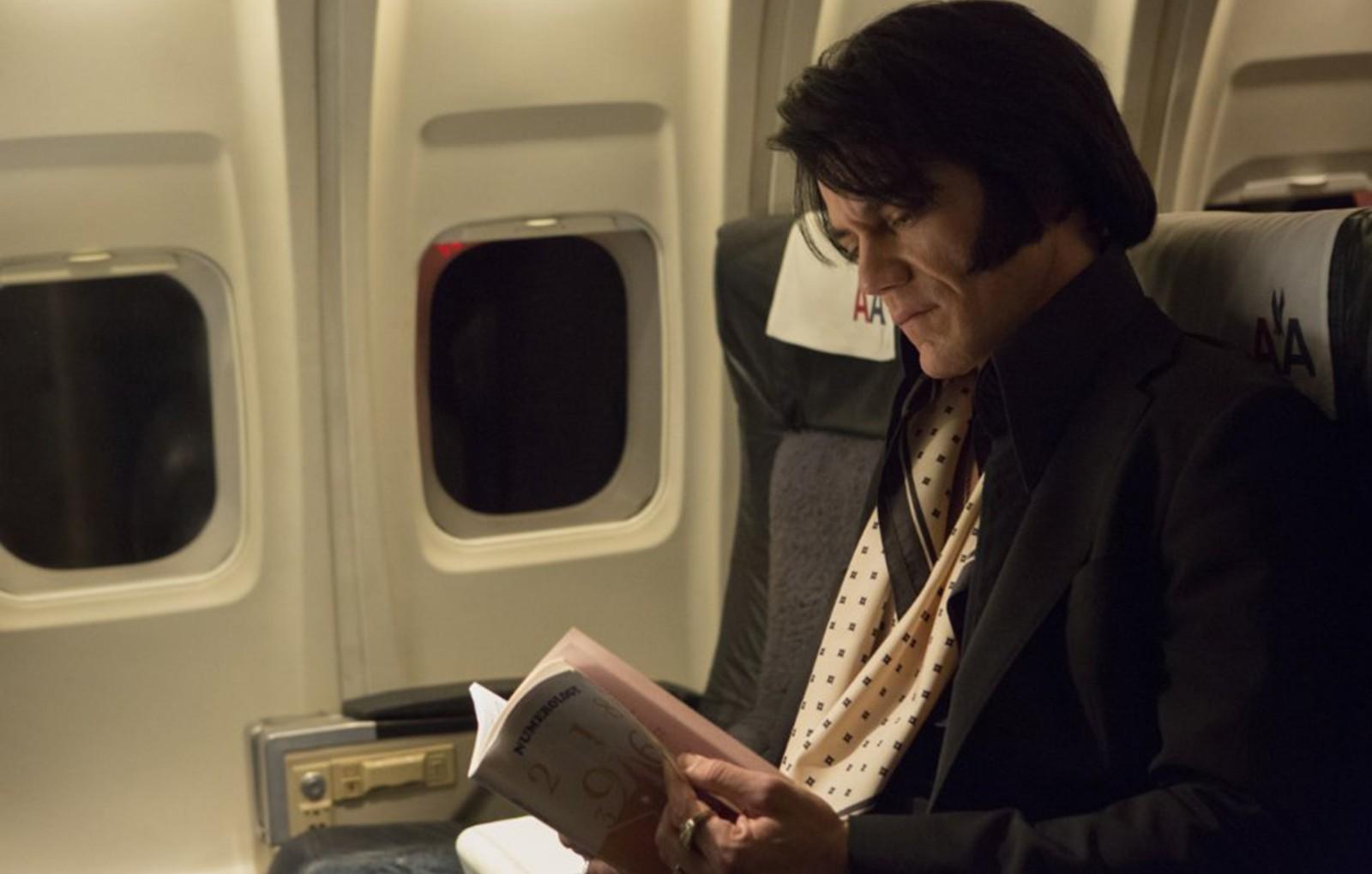 "Michael Shannon stars in ""Elvis & Nixon."""