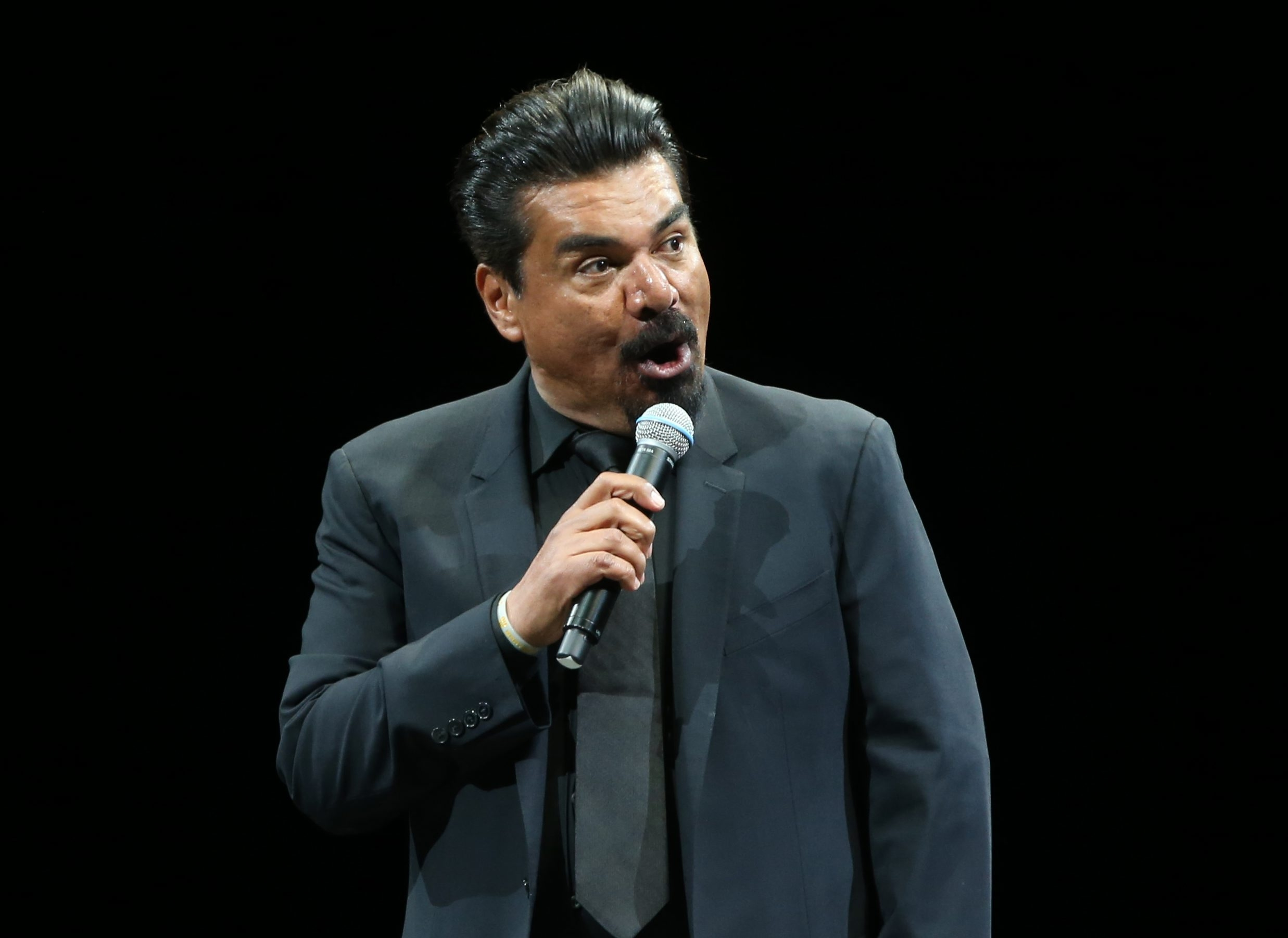 George Lopez opened the Comedy Get Down show at First Niagara Center.  (Sharon Cantillon/Buffalo News)