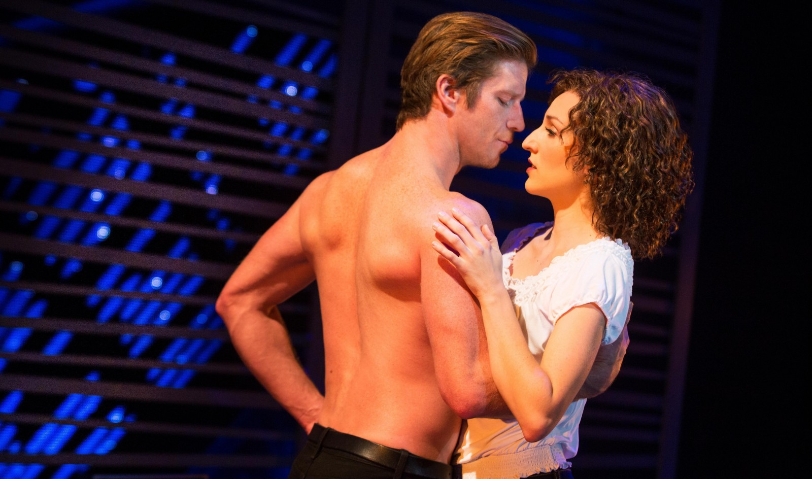 "Christopher Tierney and Rachel Boone star in the national tour of ""Dirty Dancing: The Classic Story On Stage."""