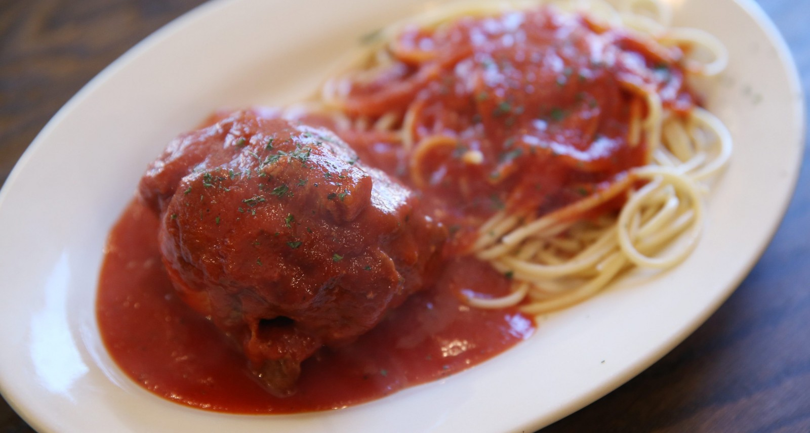 Braciole is a Wednesday specialty at Panaro's Italian Cuisine. (Sharon Cantillon/Buffalo News)