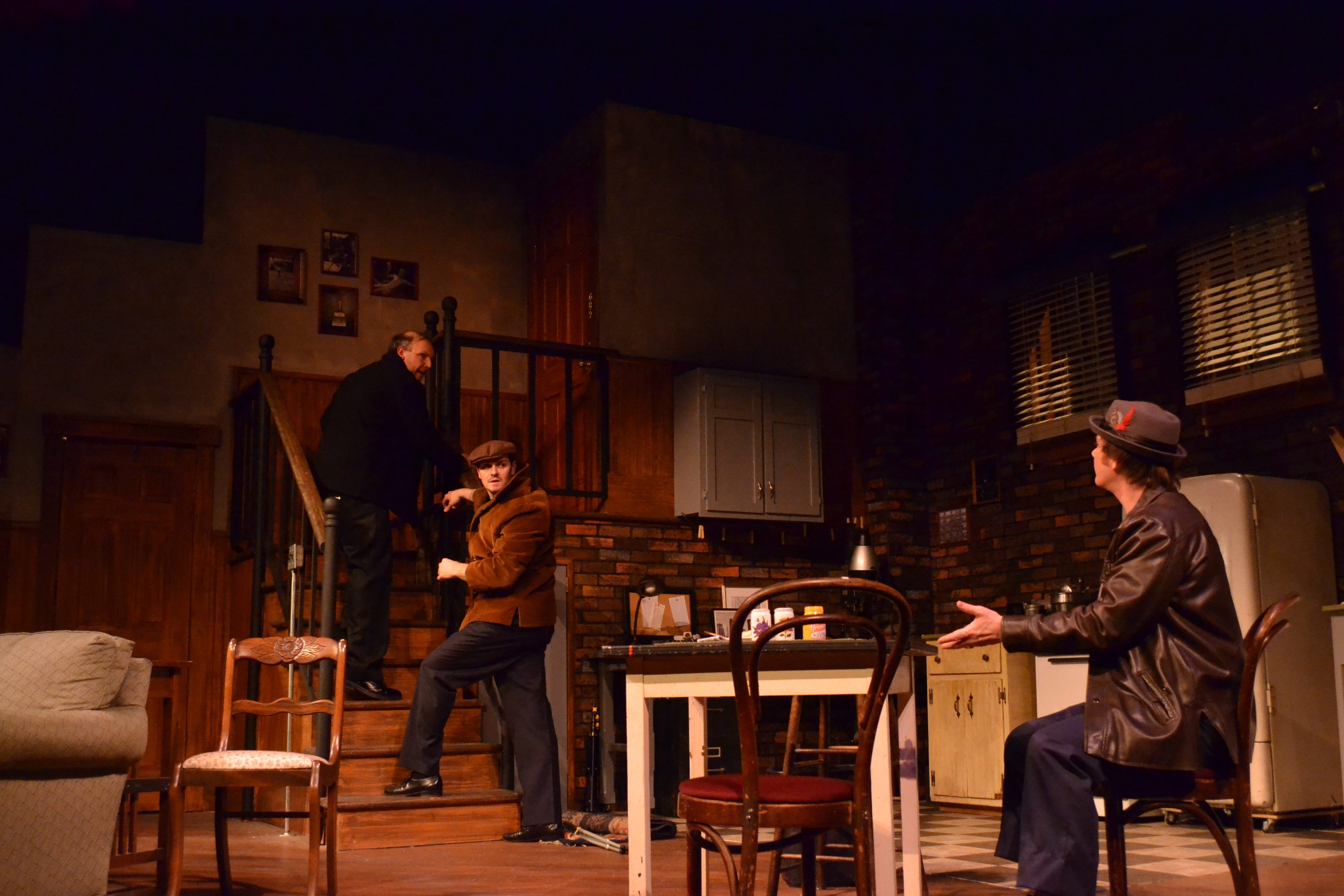 'Wait Until Dark' is at the Kavinoky Theatre through May 22. (Photo by Benjamin Streeter)