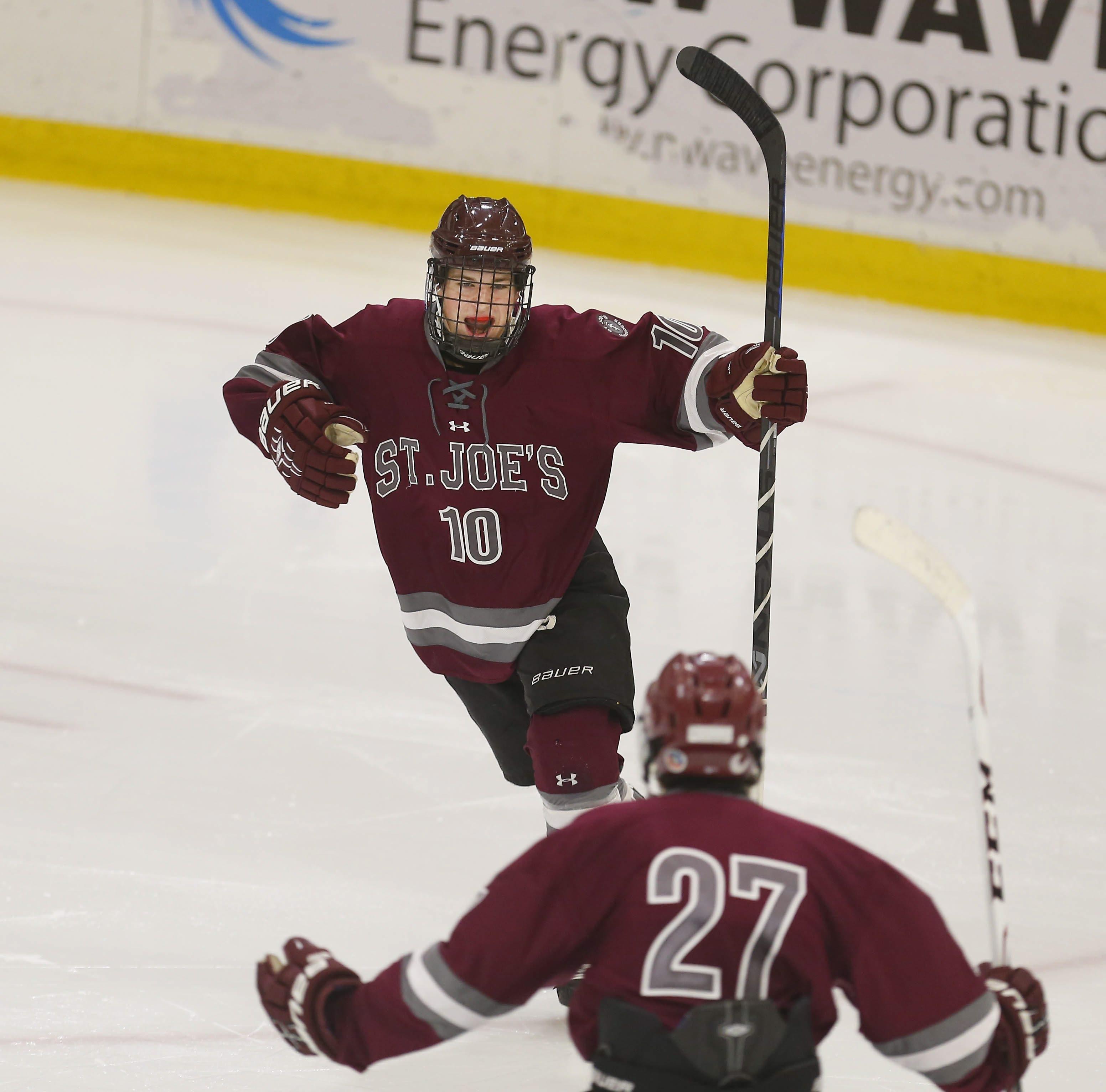 St. Joe's Michael Greco is on the Buffalo high school juniors team.