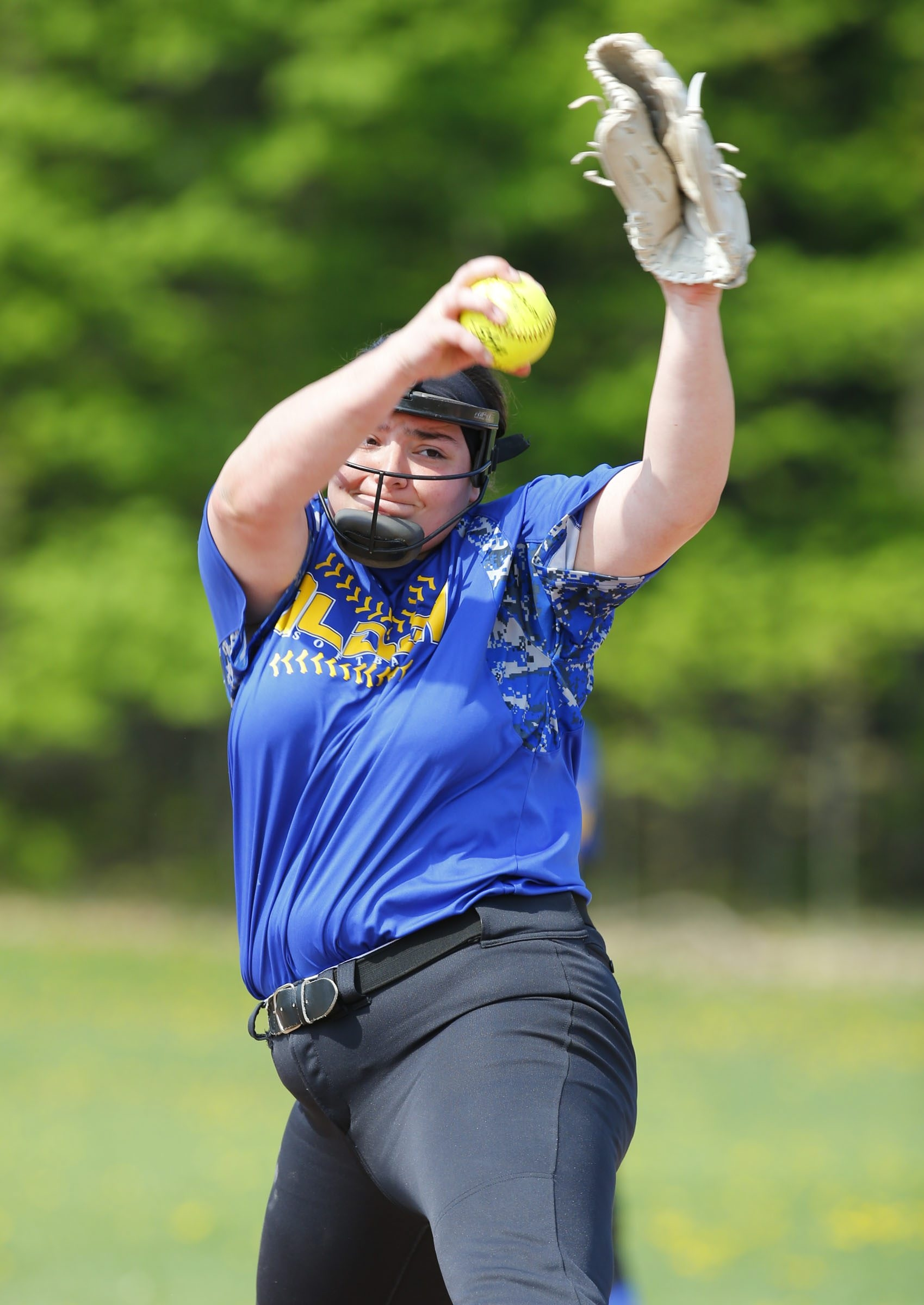 Alden's Laura Kratzke was an all-Western New York pick last year, and her team is No. 1 so far this year.