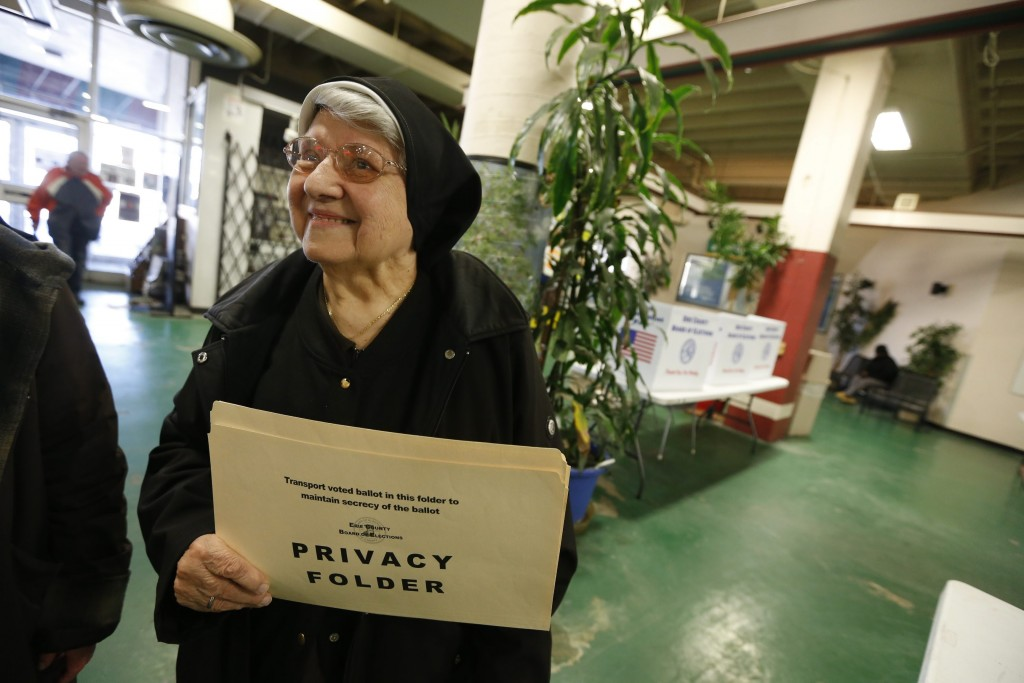 Sister Mary Josanne Buszek, a Democrat, says Sen. Bernie Sanders has unrealistic expectations about what he could accomplish as president.