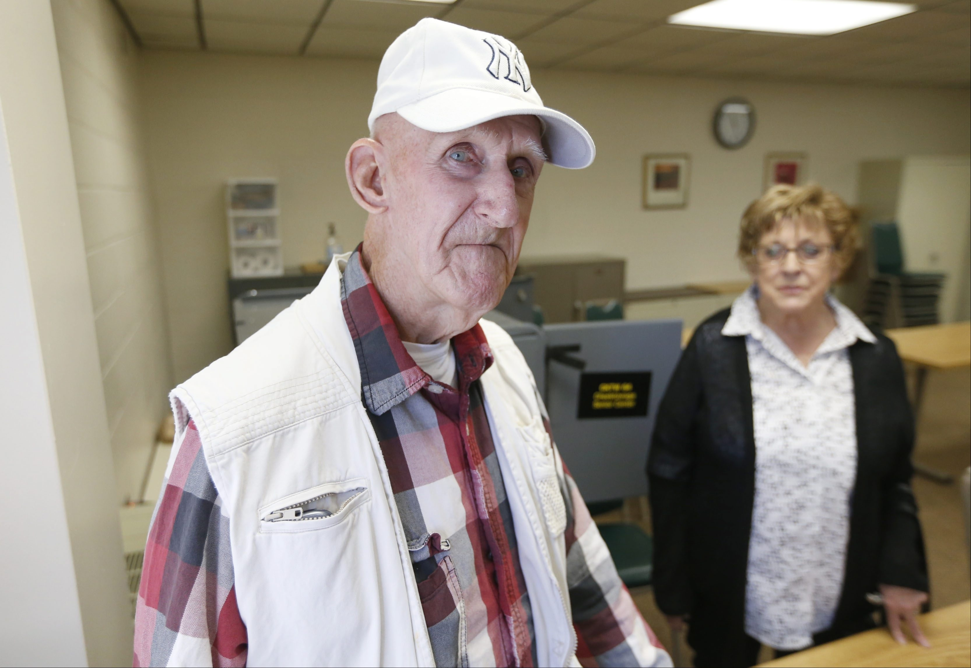 Republican Donald Frank voted for Texas Sen. Ted Cruz on Tuesday at the Cheektowaga Senior Center.