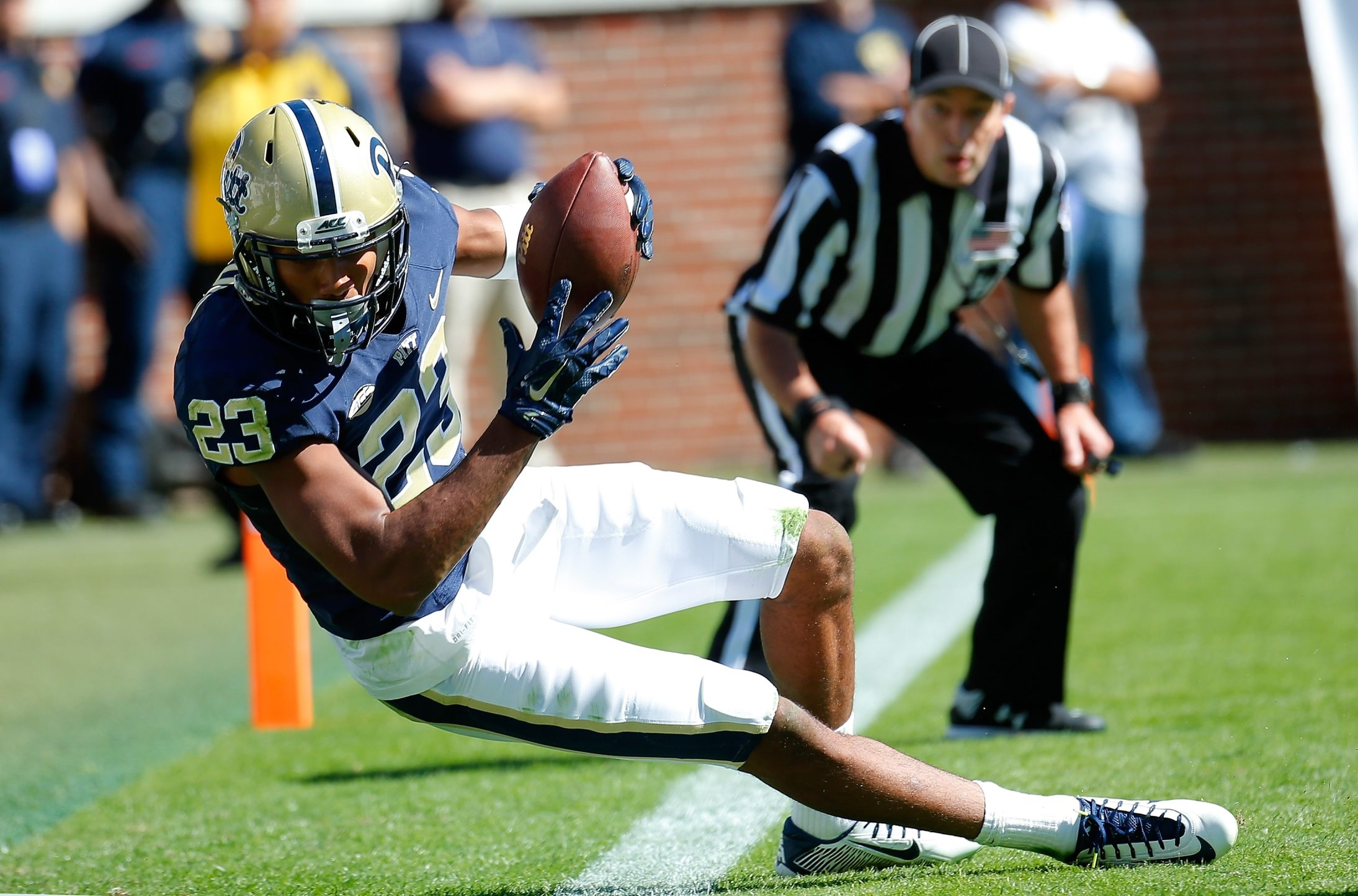 Tyler Boyd is a receiver that willingly runs middle routes.