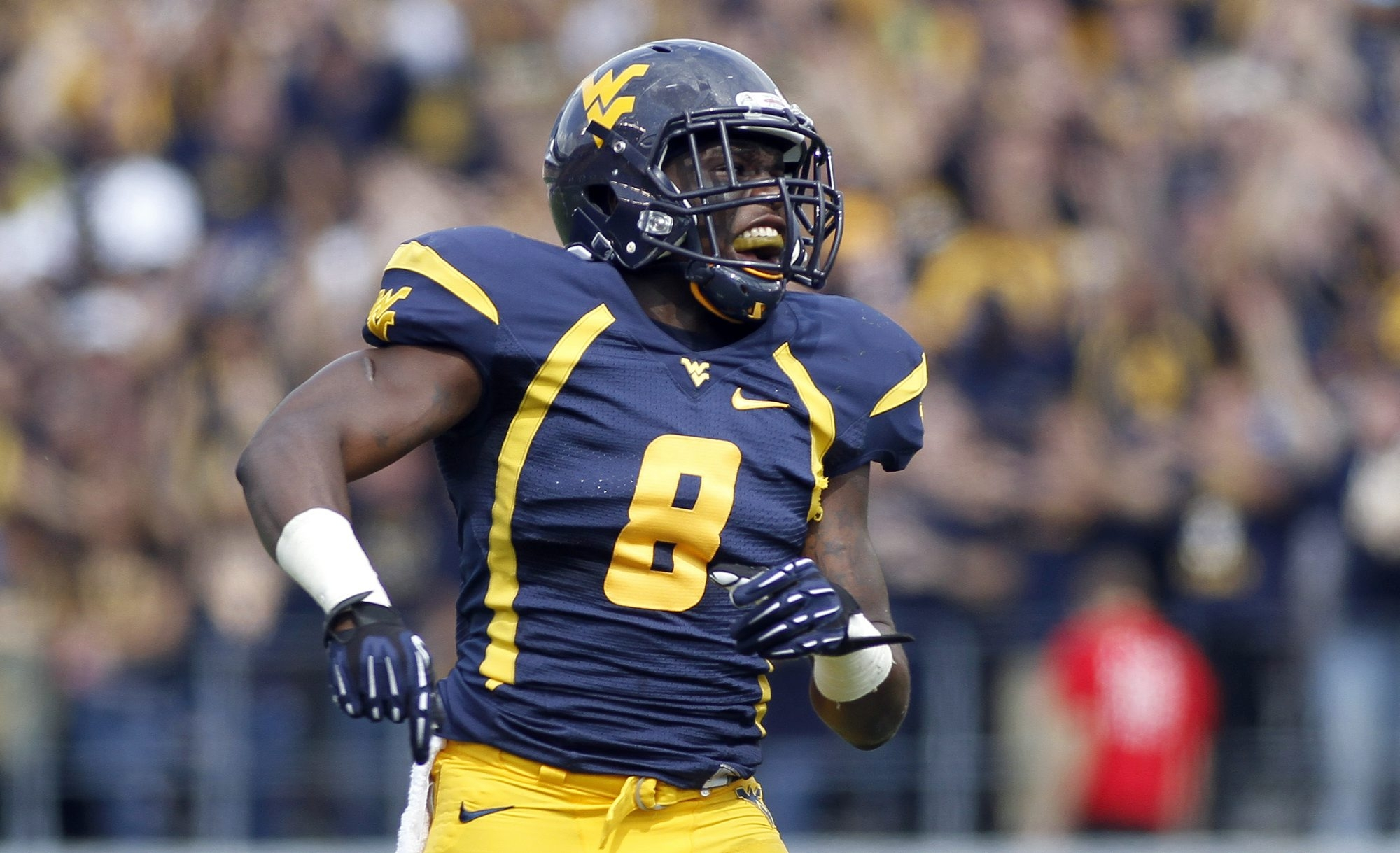 Karl Joseph of the West Virginia Mountaineers is coming off a knee injury.