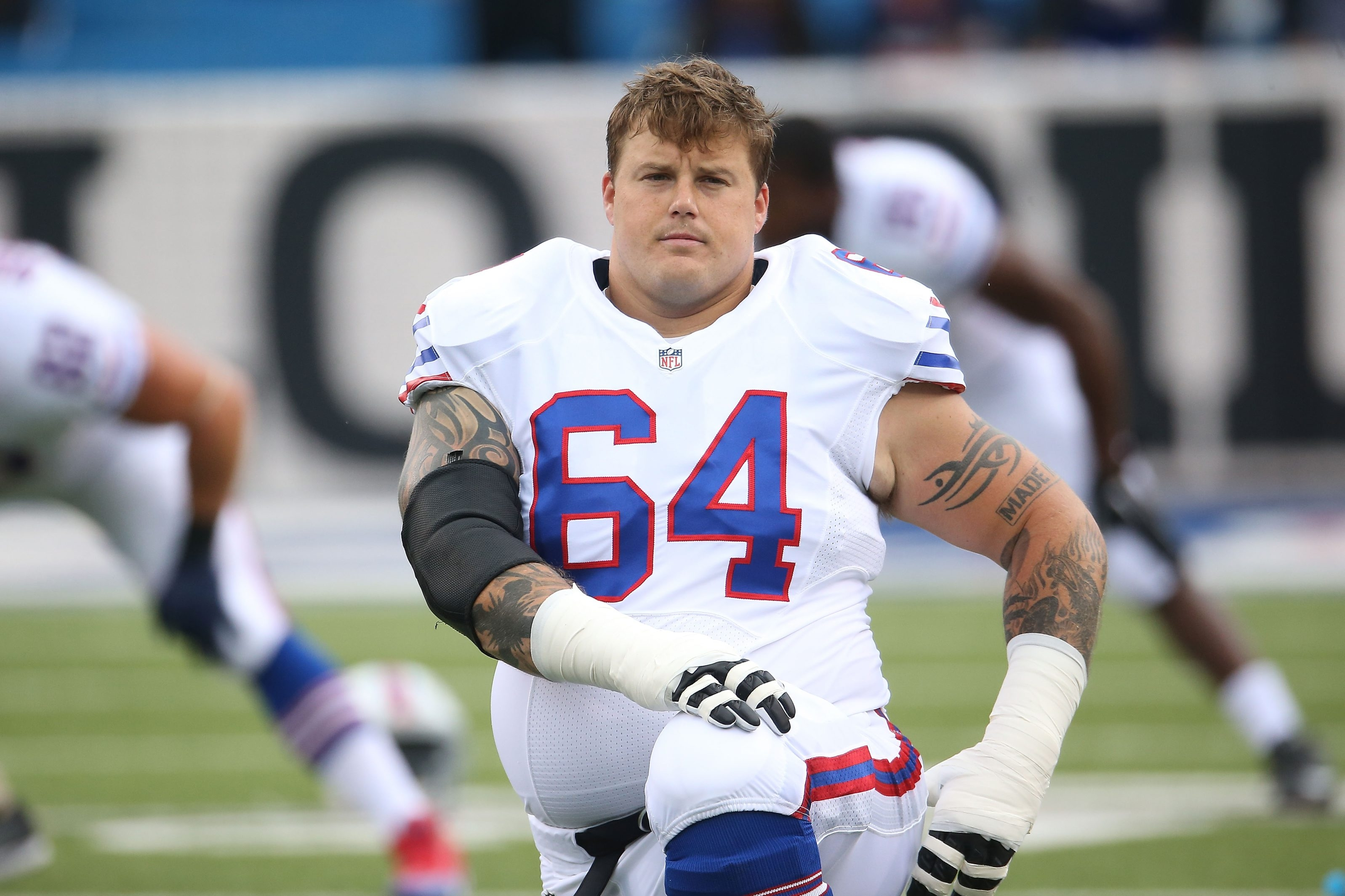 Richie Incognito has become a valued member of the team.