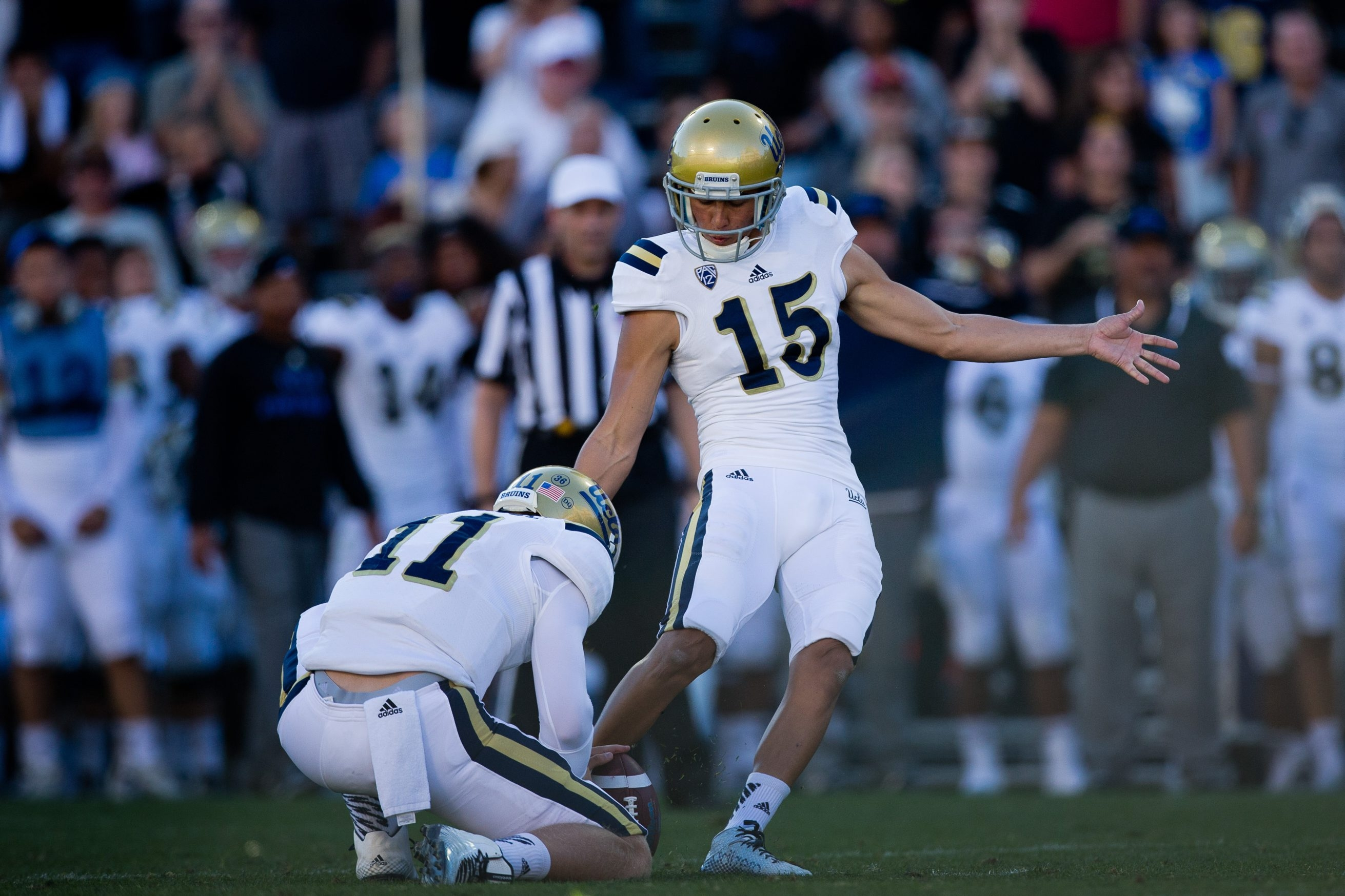 Ka'imi Fairbairn made 41 straight field goals from 35 yards or closer to end his career at UCLA.