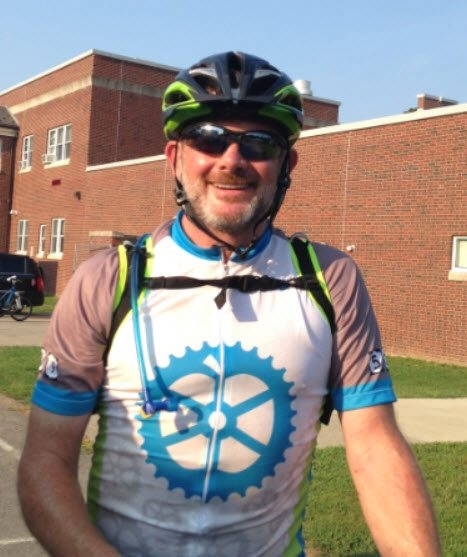 Terry Bourgeois is a key organizer of the Empire State Ride to End Cancer.