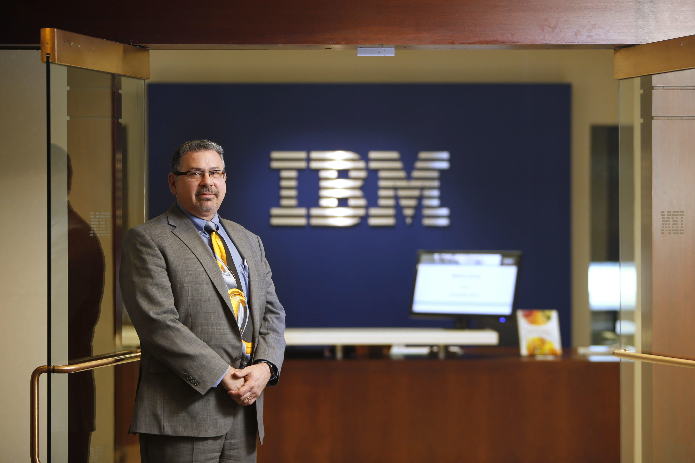 Jay Goodwyn, executive director of the IBM Buffalo Innovation Center, says the center will help companies analyze data to become smarter.  (Derek Gee/Buffalo News)