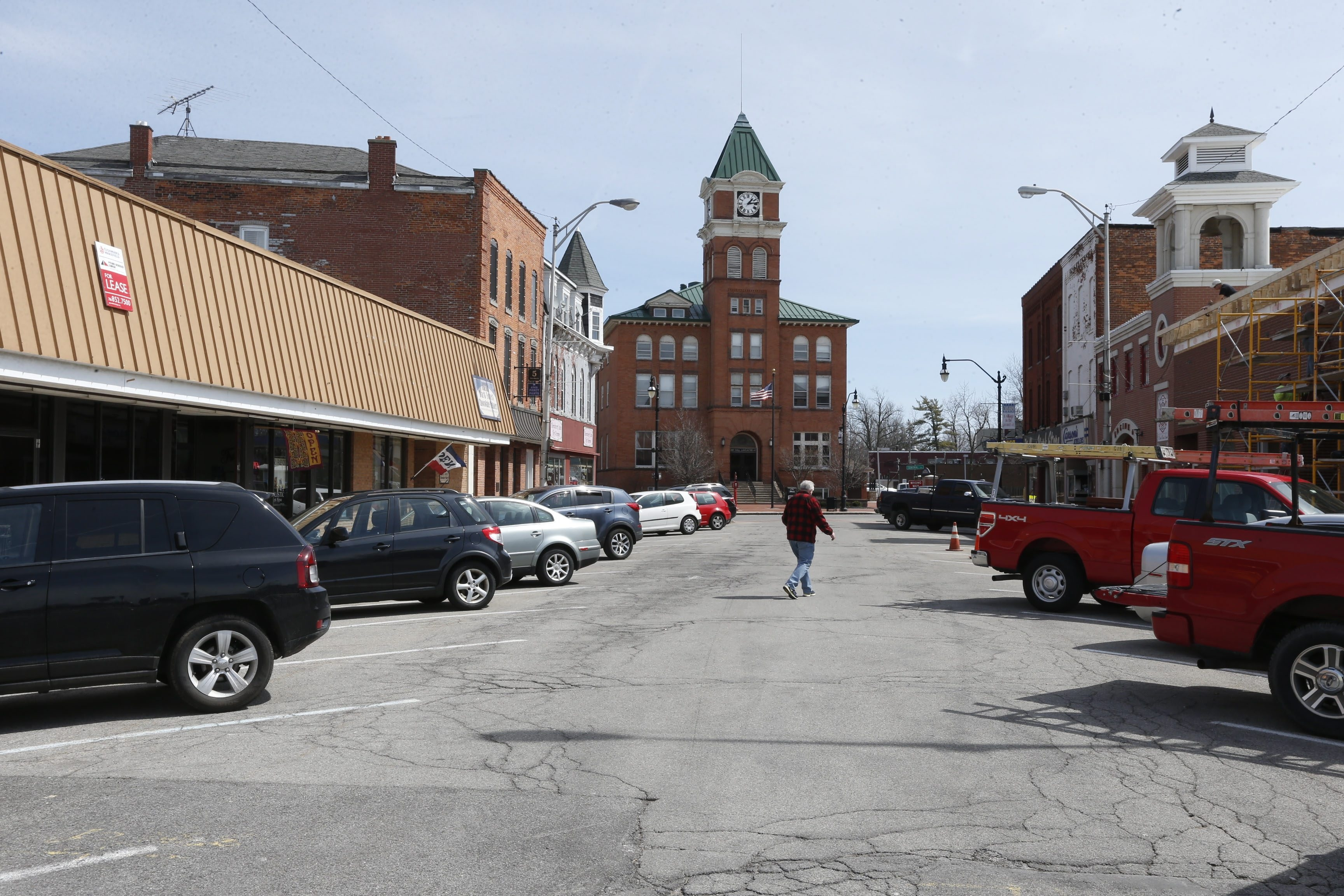 """Antique street lights, park benches and new sidewalks and curbing are among the improvements planned fo West Main Street. The price tag for the project has grown from $200,000 to $280,000, but, """"We're going push forward with it,"""" Trustee William C. Schroeder said."""