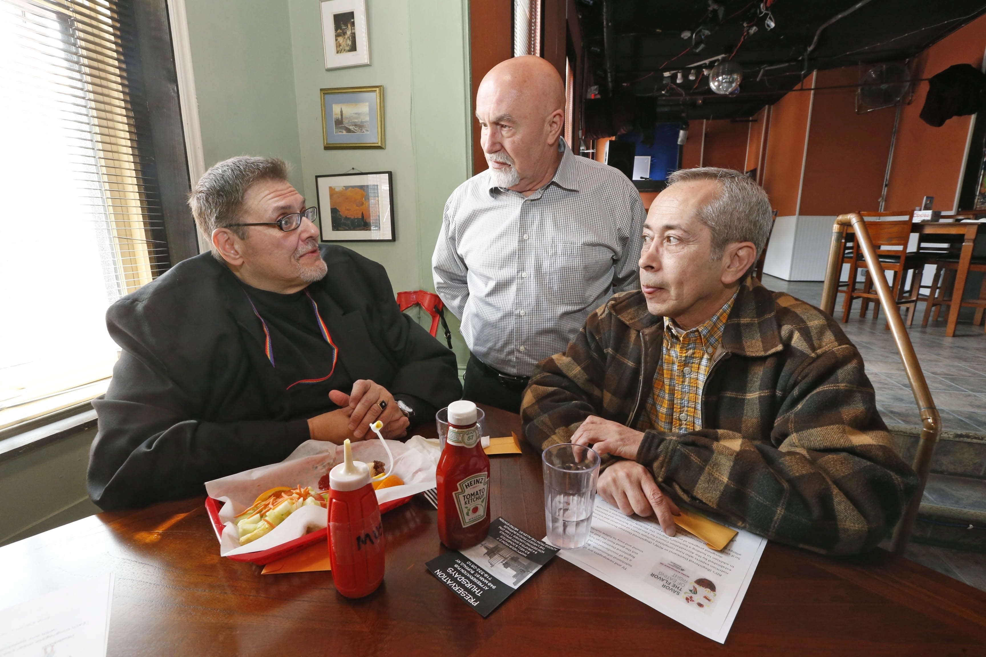 Erie County offers its first senior dining program for LGBT community