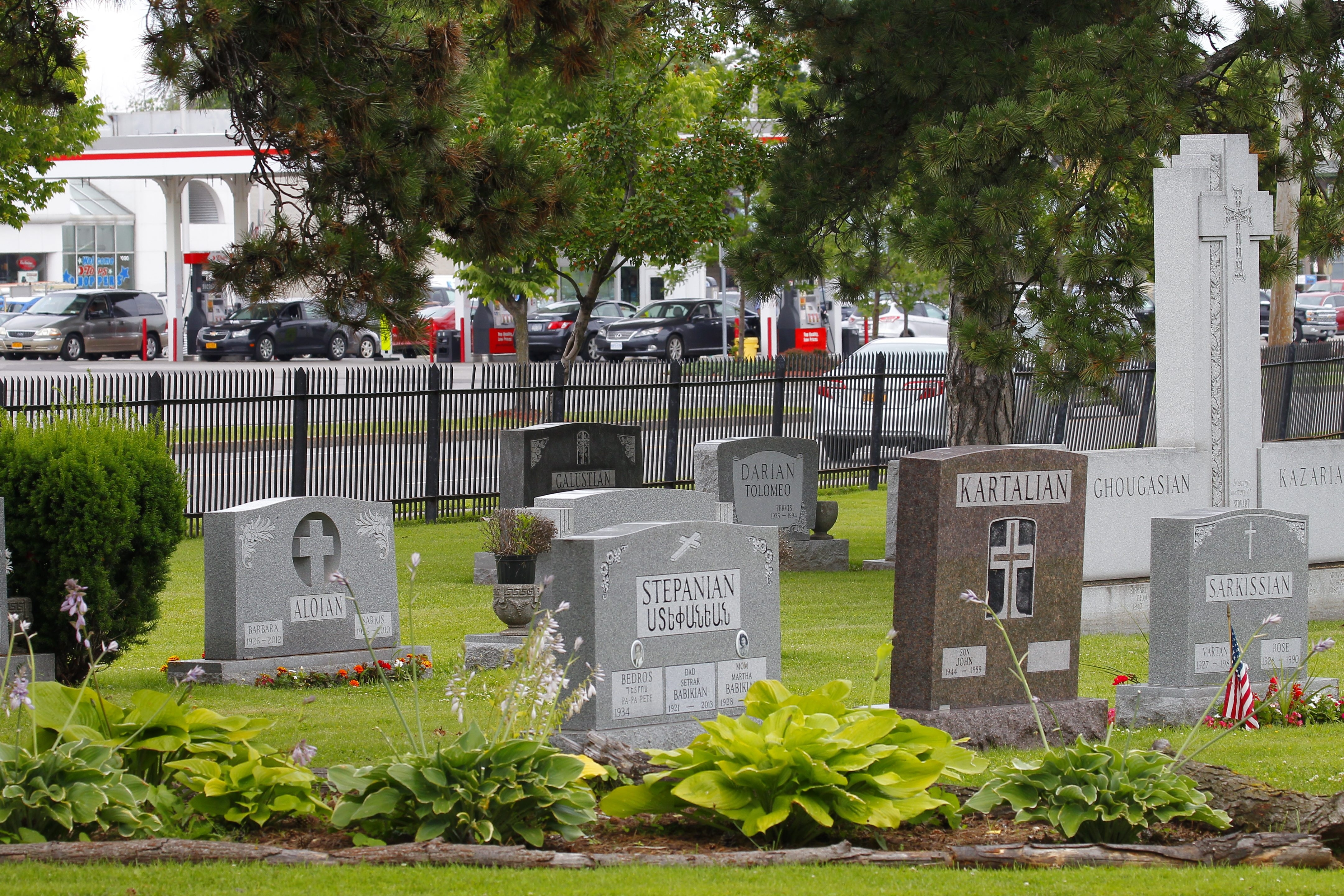 Oakwood Cemetery in Niagara Falls is home to many of the region's famous movers and shakers.