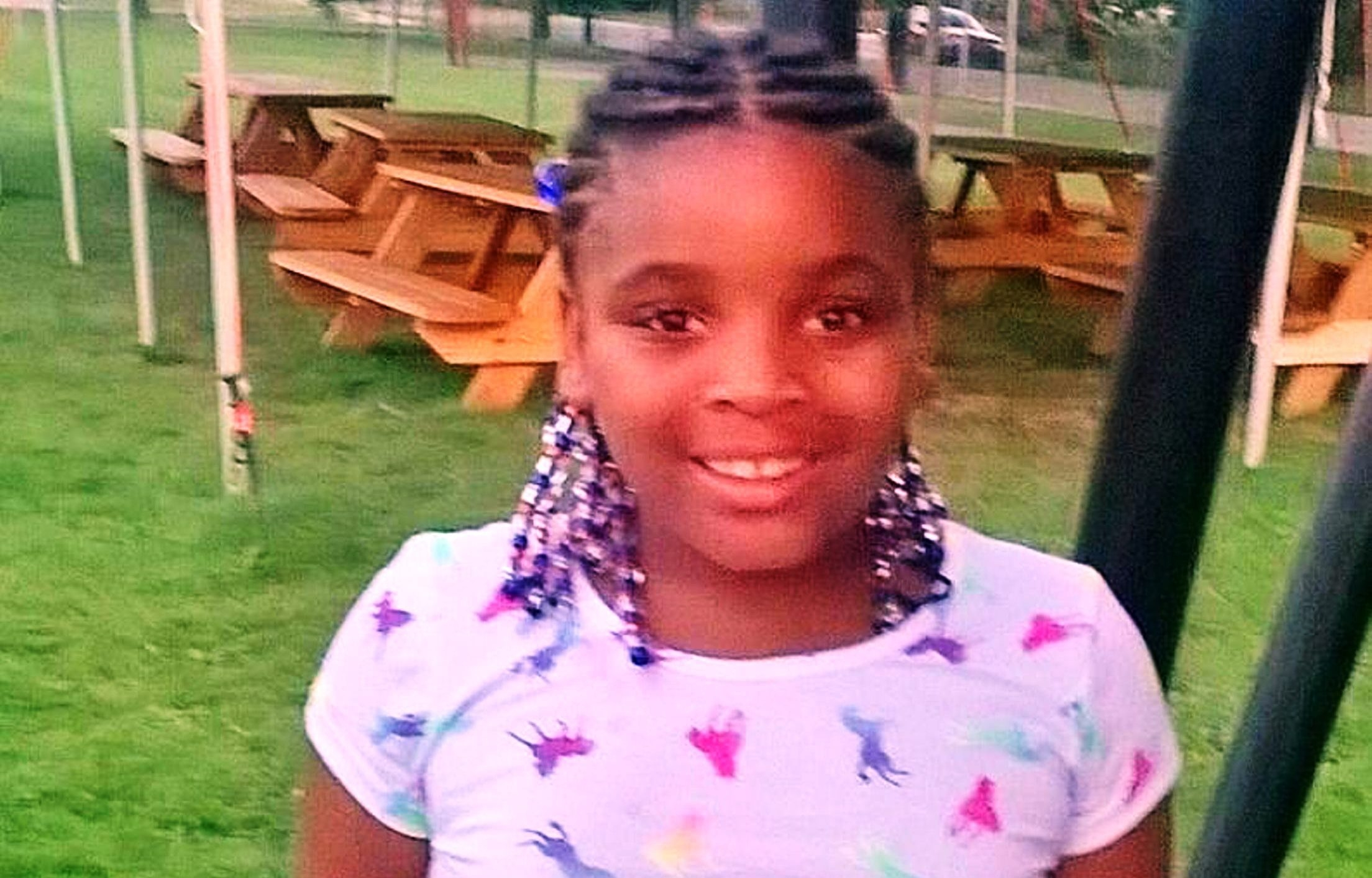 Treasure Brighon, 8, died Sunday from burns suffered in a Feb. 19 house fire deemed accidental.