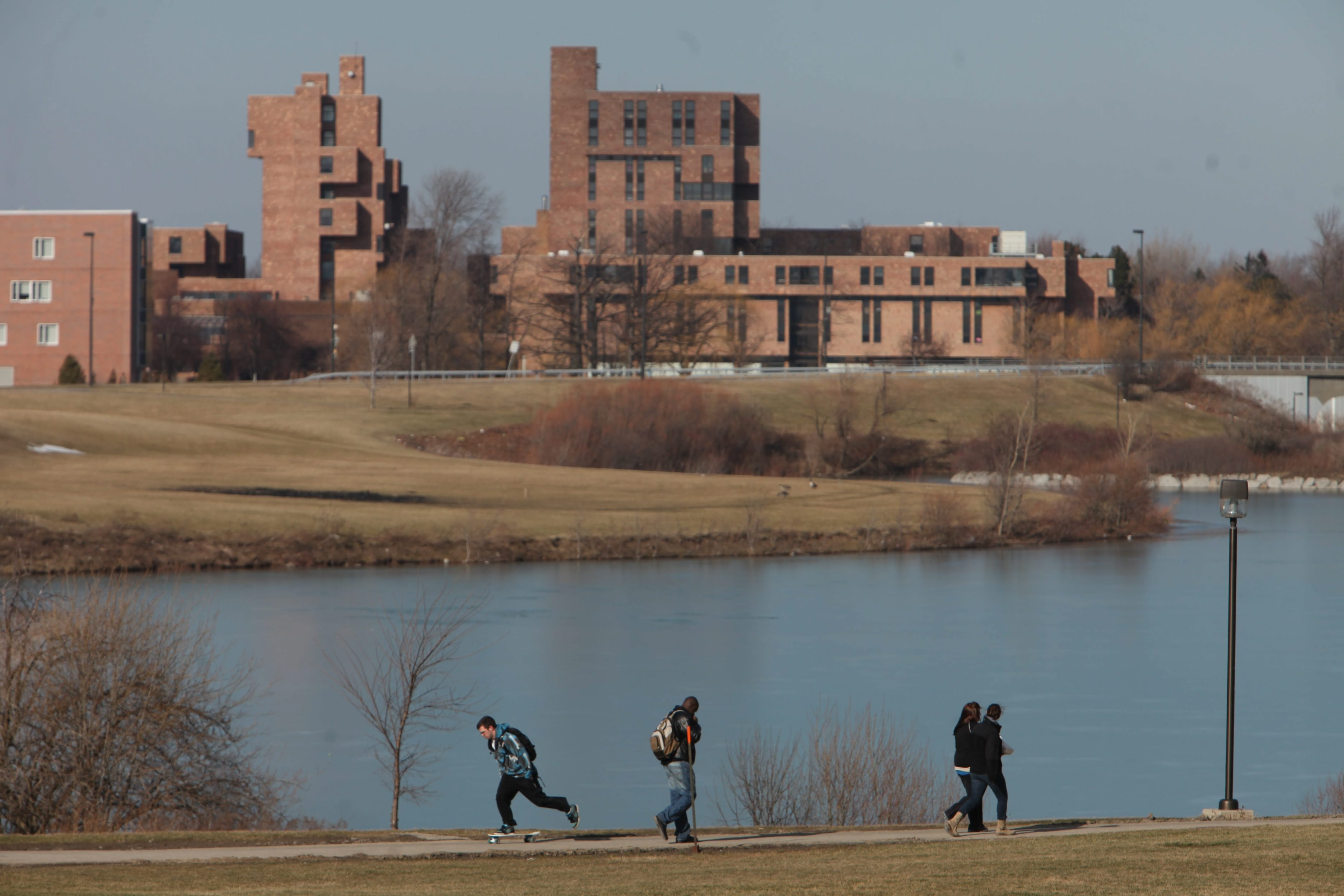 The University at Buffalo has received 25,270 applications for admission this year, up 10 percent from last year. (Sharon Cantillon/News file photo)