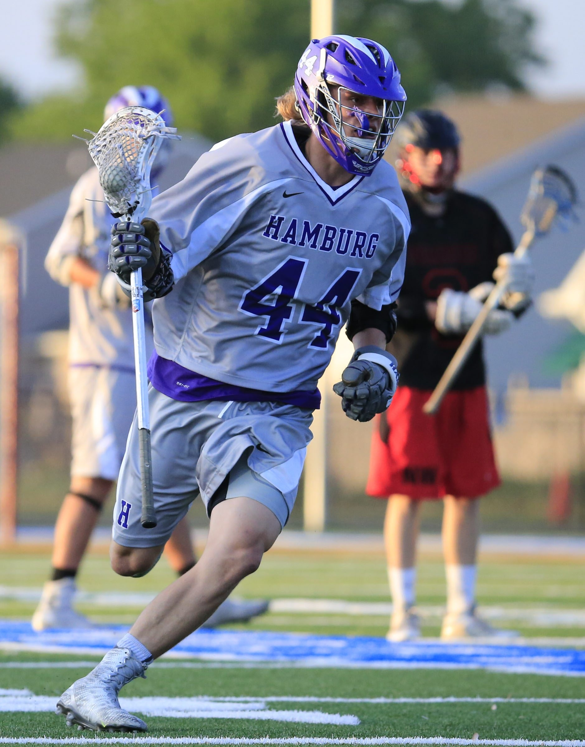 Hamburg's Brendan Ryan is one of the top returning players for the Bulldogs' lacrosse team in Class B.