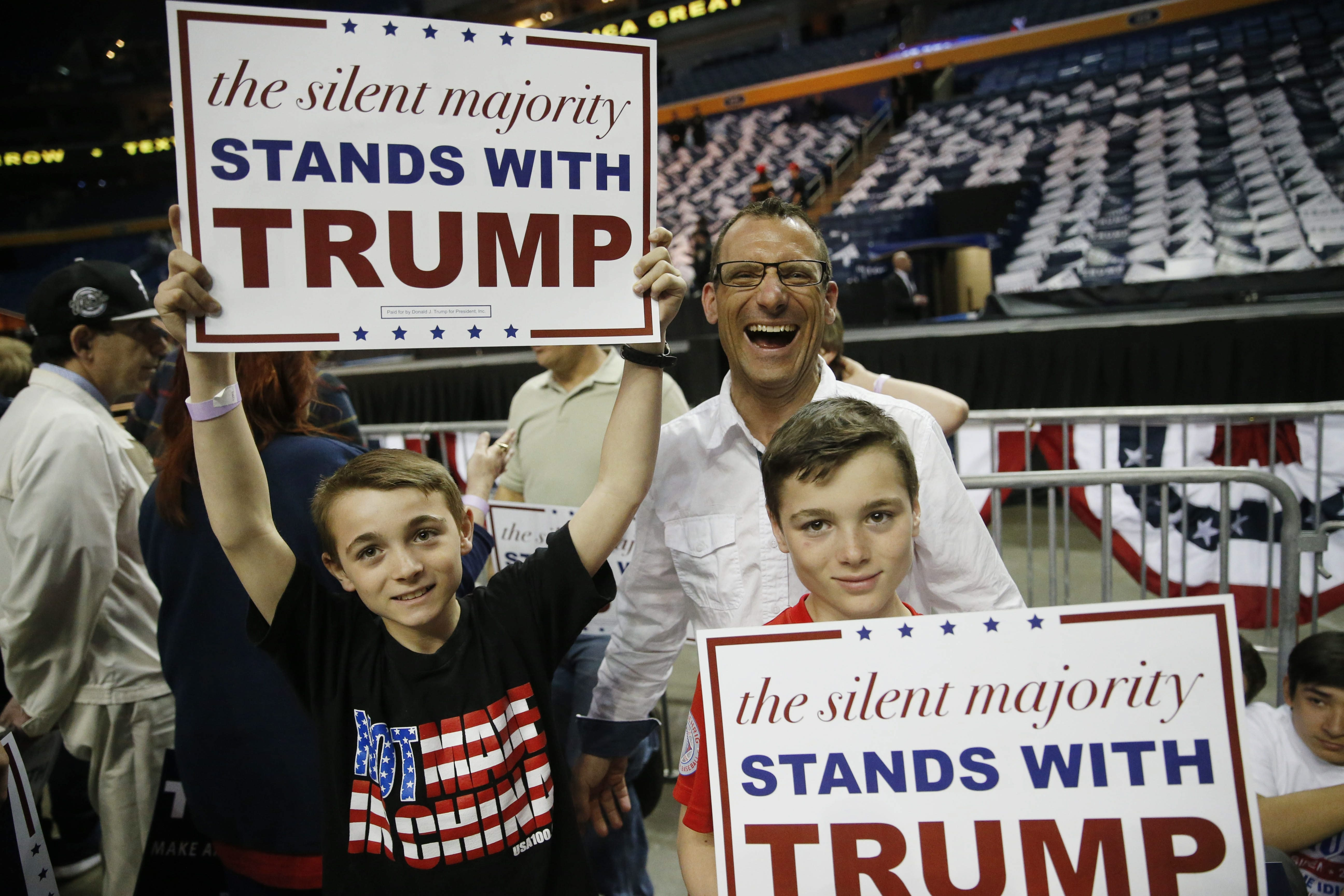 Young, old and older, supporters of Donald Trump gathered Monday for a political rally at First Niagara Center in Buffalo. The crowd was estimated at more than 12,000 people.