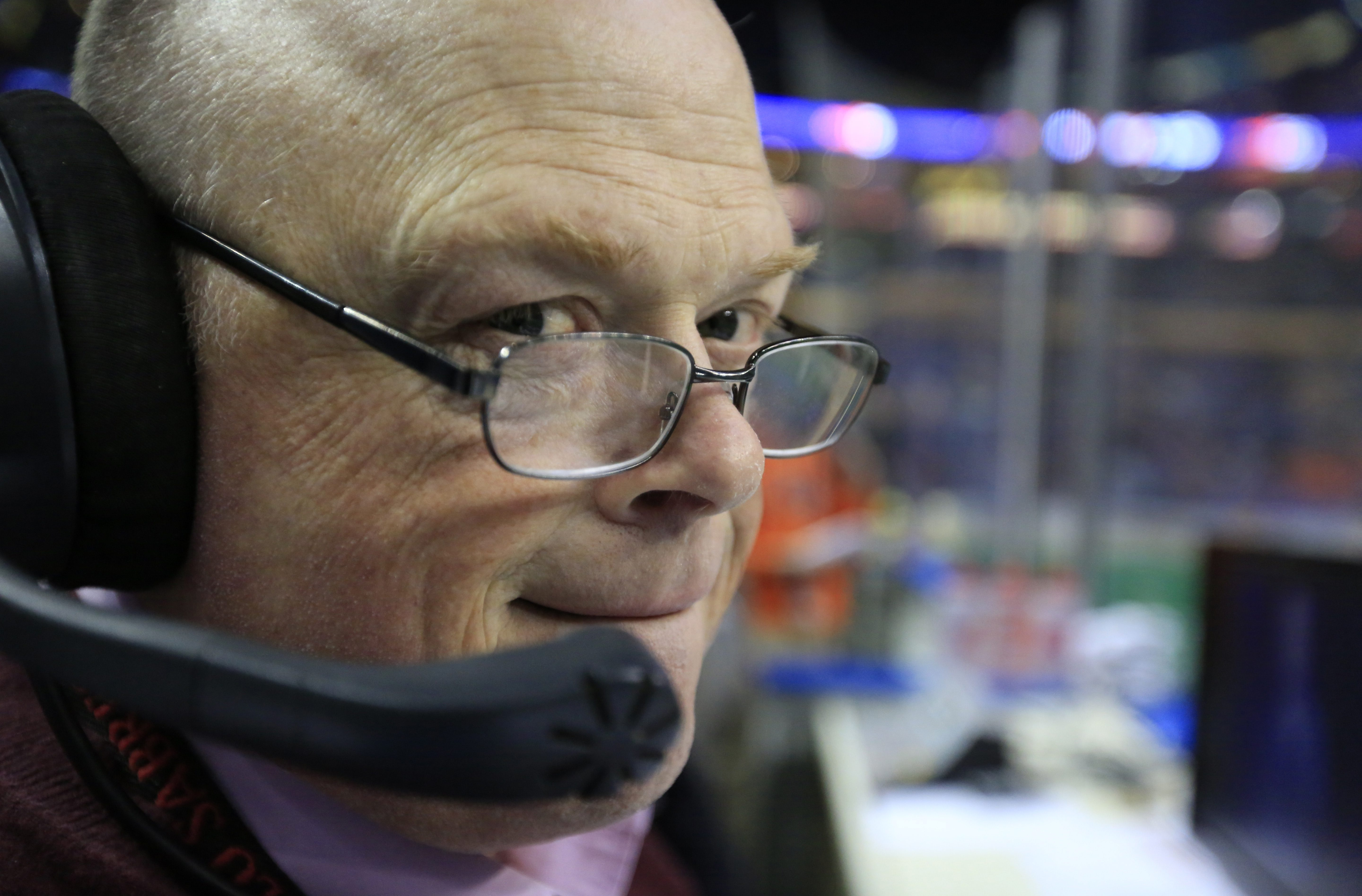 Buffalo Bandits announcer Chris Swenson has been with the franchise since its debut.