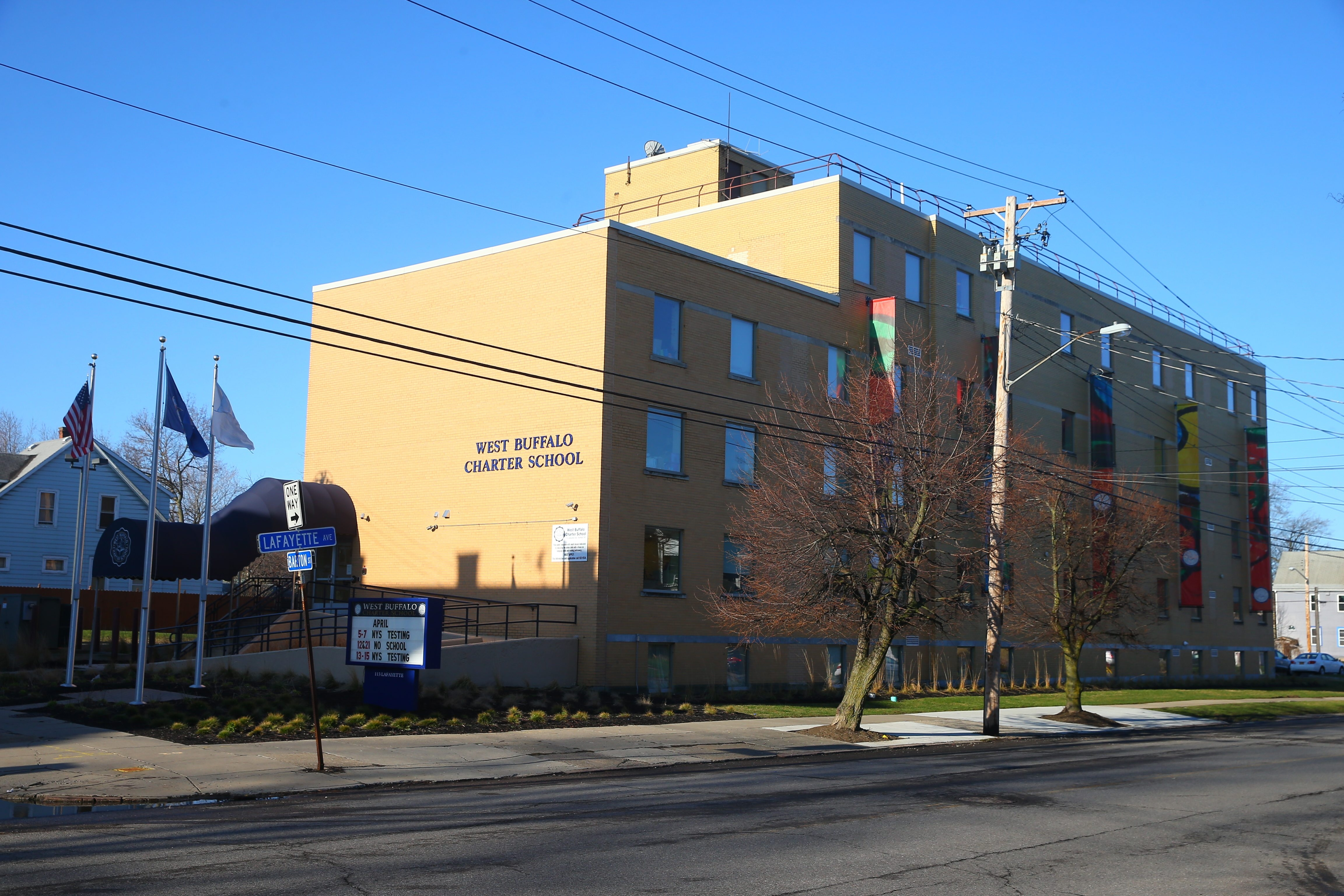 Plans for a pair of expansions at West Buffalo Charter School, to house 5th to 8th grade classrooms at West Buffalo Charter School, 113 Lafayette Avenue, in Buffalo, N.Y., on Tuesday April 12, 2016.(John Hickey/Buffalo News) #File