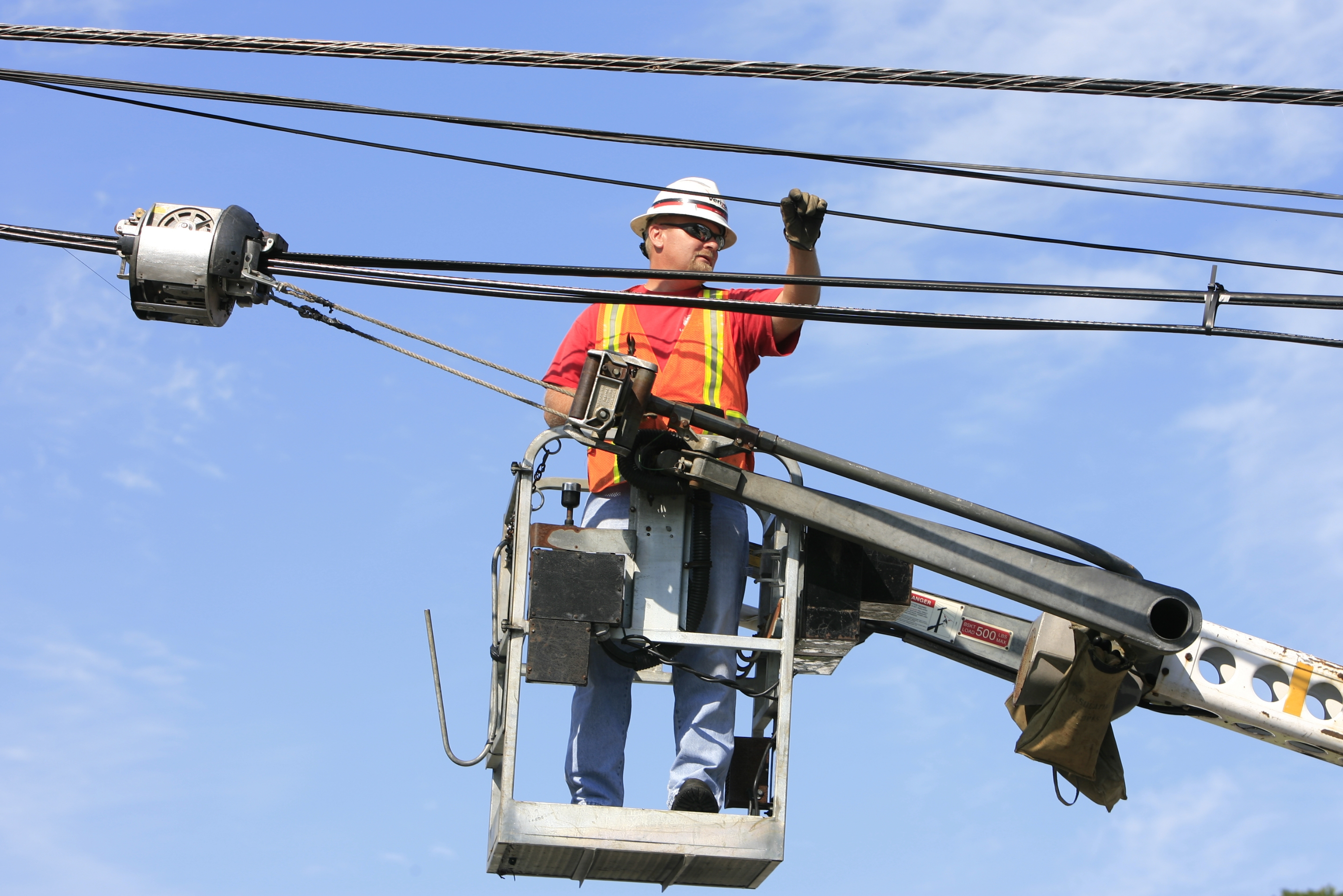 Verizon employees such as those who connect fiber-optic cables are affected by negotiations between the company and the CWA and IBEW as the prospect of a walkout is looming. The current contract expired Aug. 1, and talks have been going on since June.