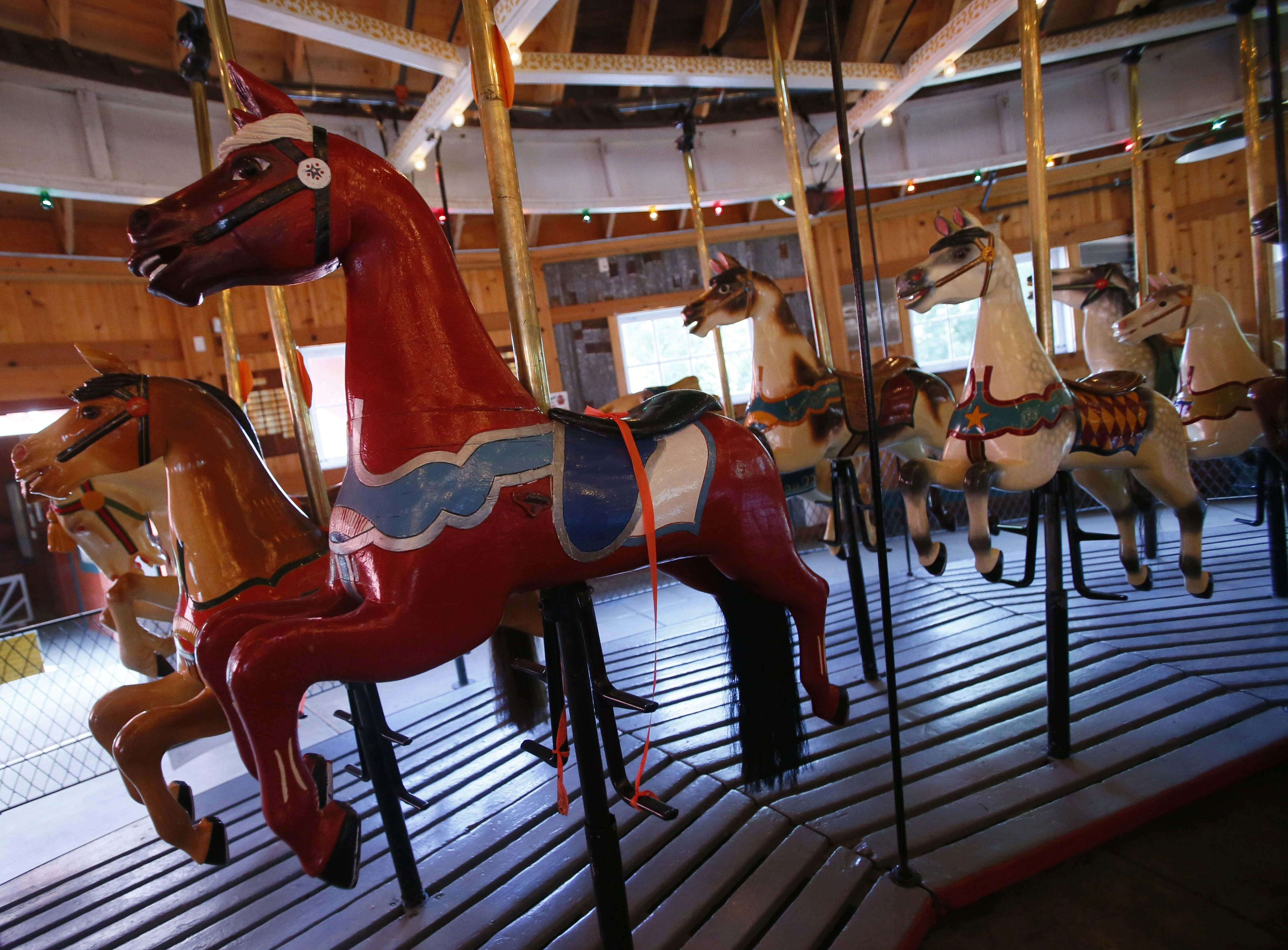 The historic carousel at the Herschell Carrousel Factory Museum in North Tonawanda is out of commission until it receives needed repairs.