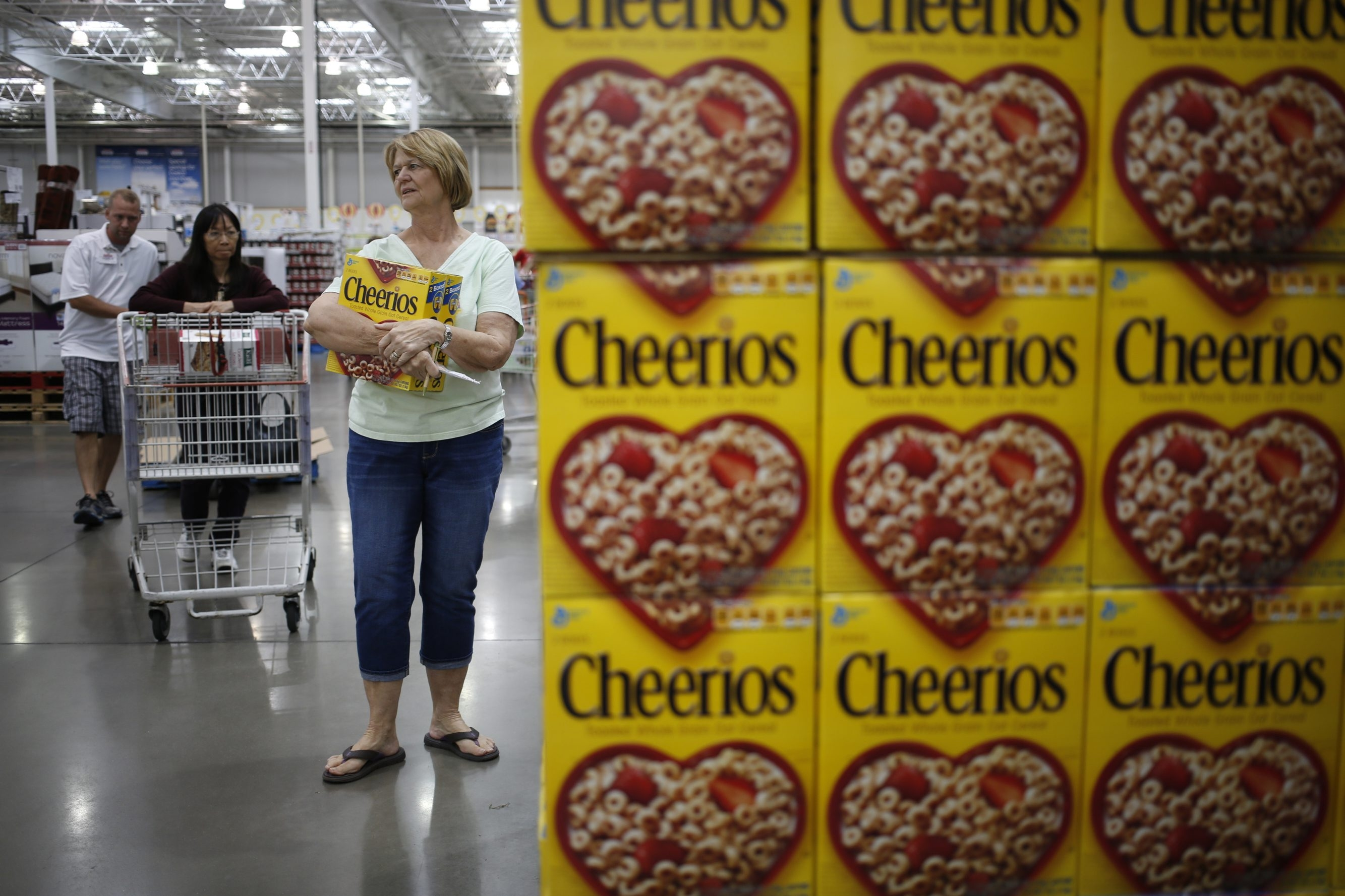General Mills already makes Cheerios in Buffalo. A set of incentives could add Chex to the facility's product line. (Bloomberg file photo)