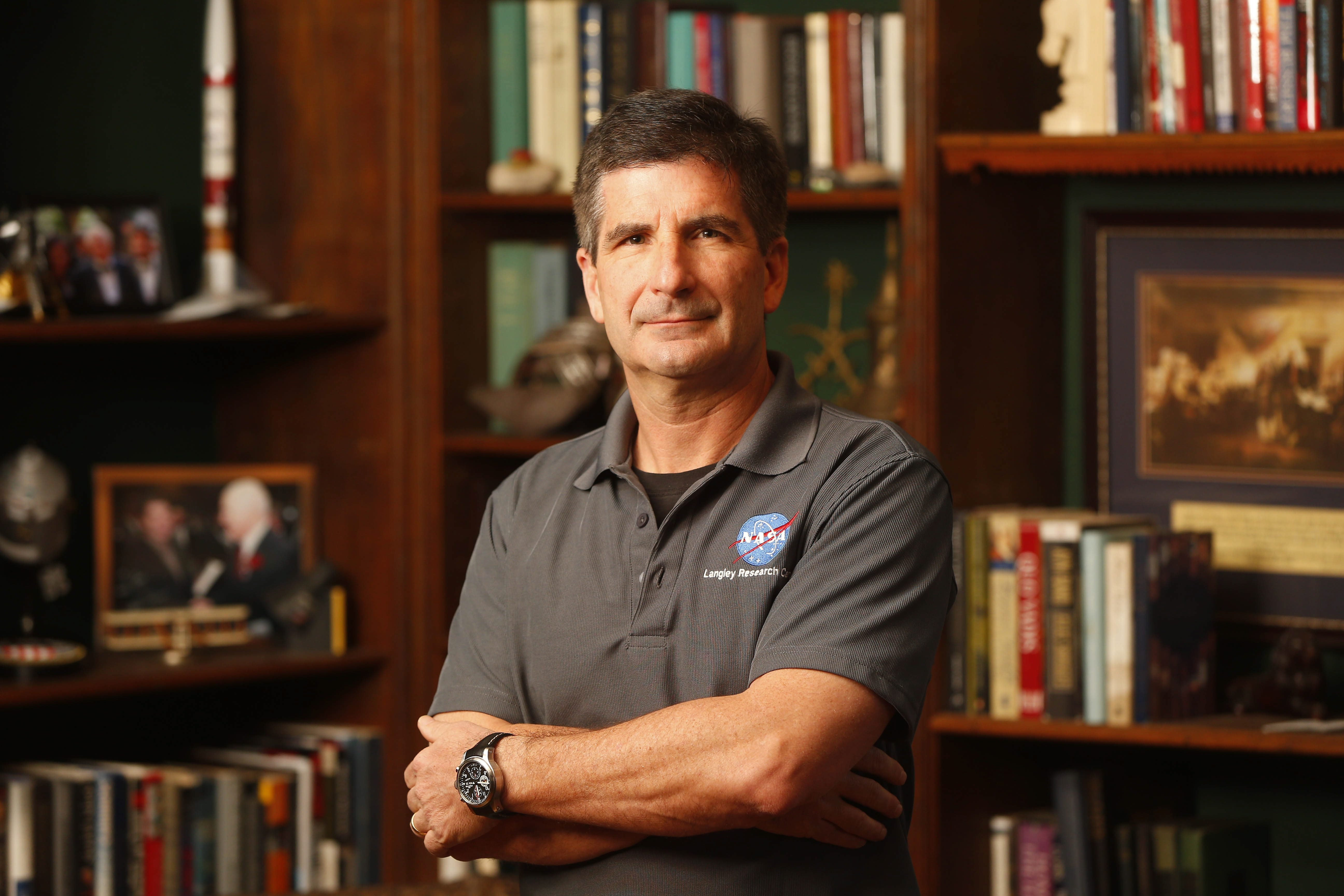 Ronald A. Franco has been chosen to take part in a NASA experiment. (Mark Mulville/Buffalo News)