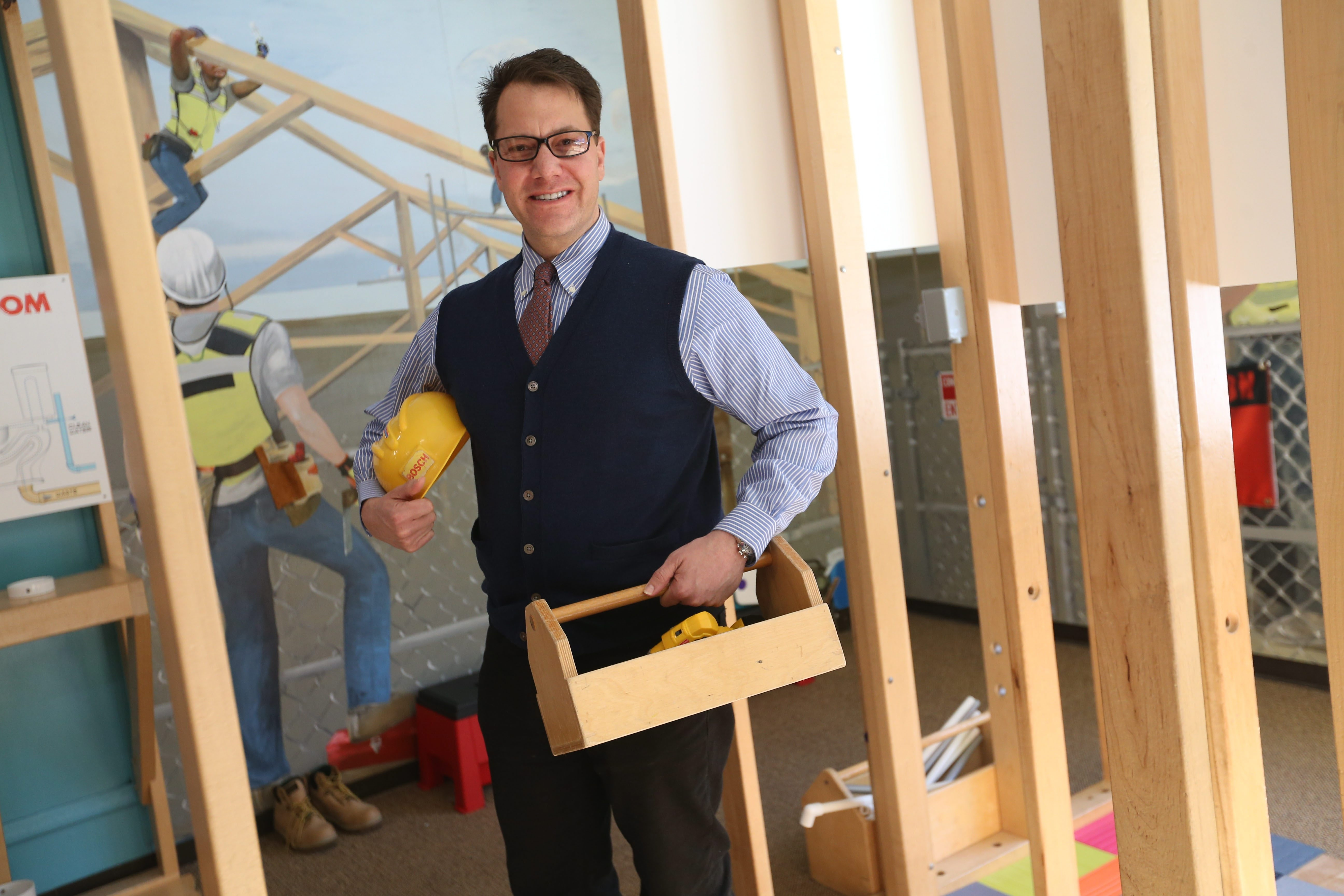 Explore & More Children's Museum's new CEO Douglas Love says a Canalside location will reach 250,000 or more kids.