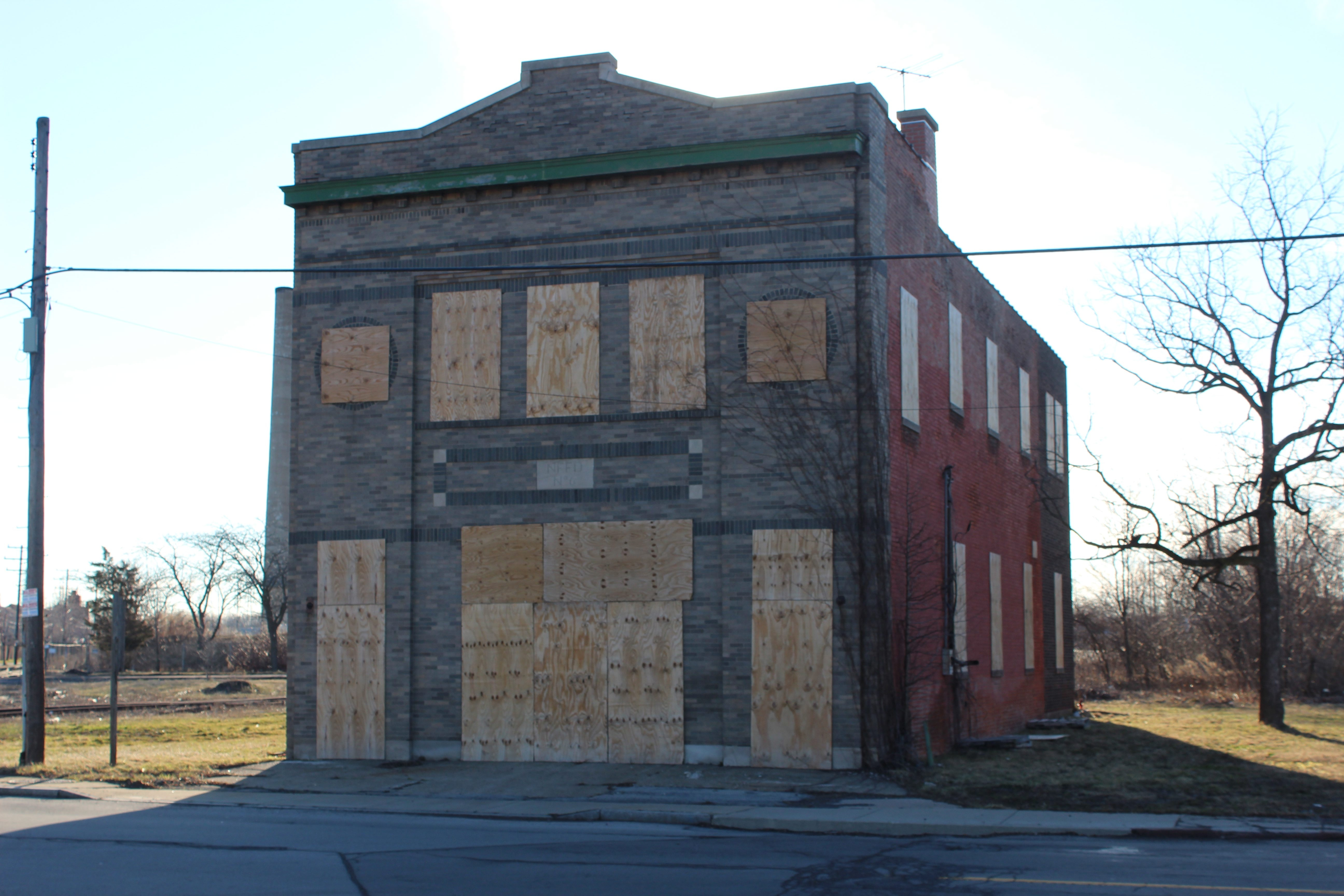 The former fire hall on Highland Avenue is the future home of the North End Trades Training Facility.