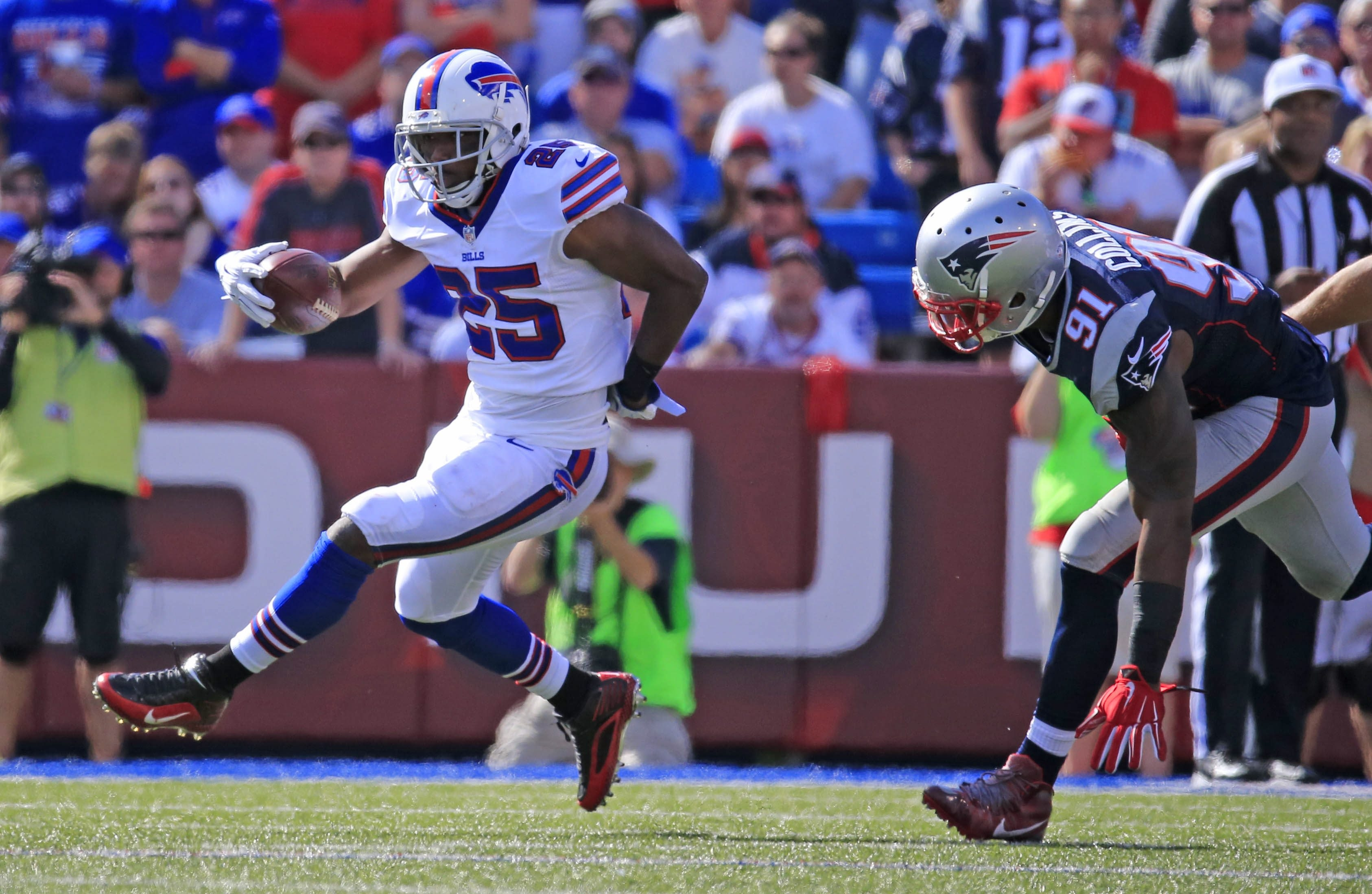 It's sometimes forgotten LeSean McCoy is only 28 and may still have some tread left on his wheels.