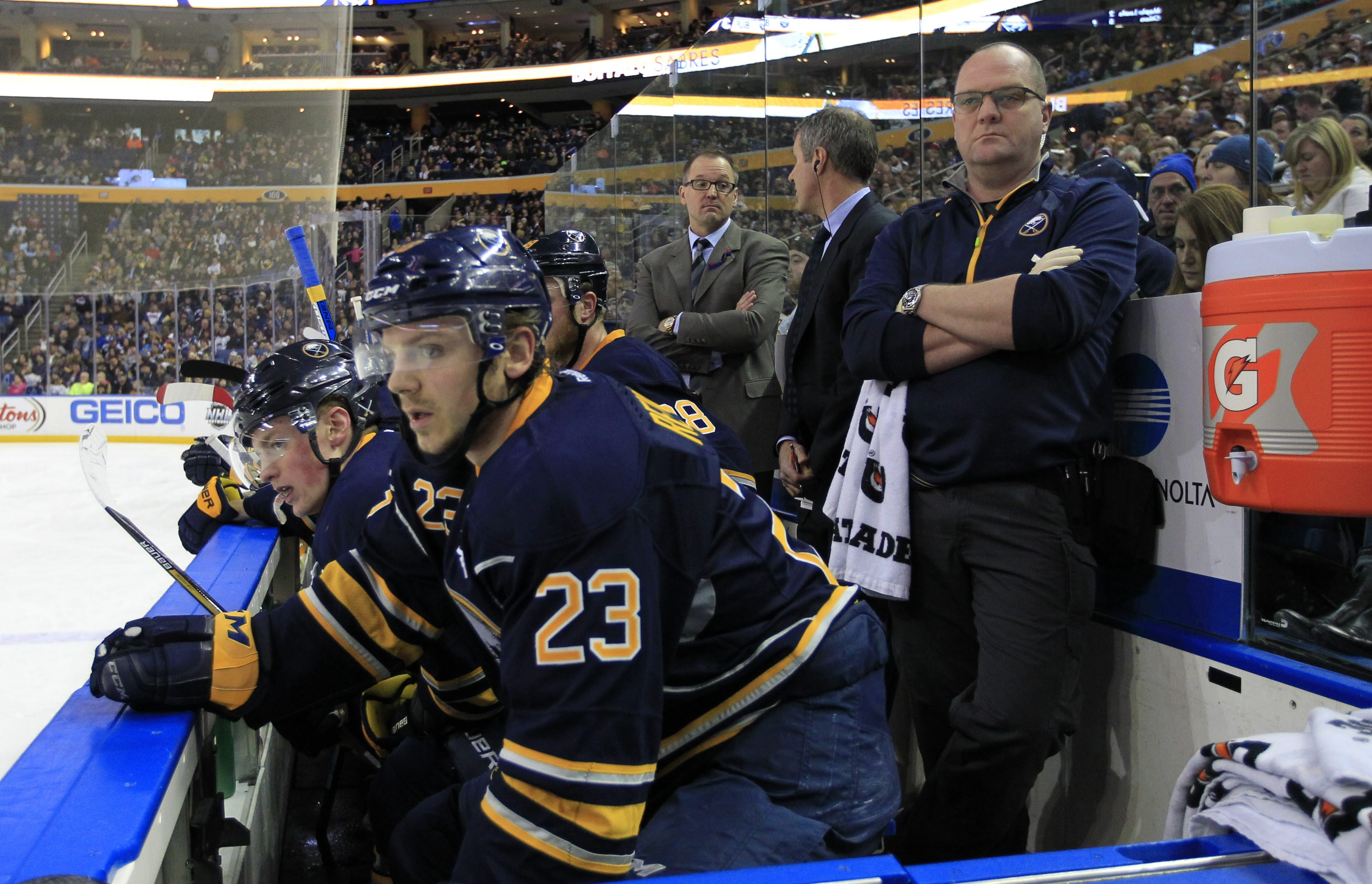 Dan Bylsma says the Sabres are at the time of the season when they should feel the need to win games.