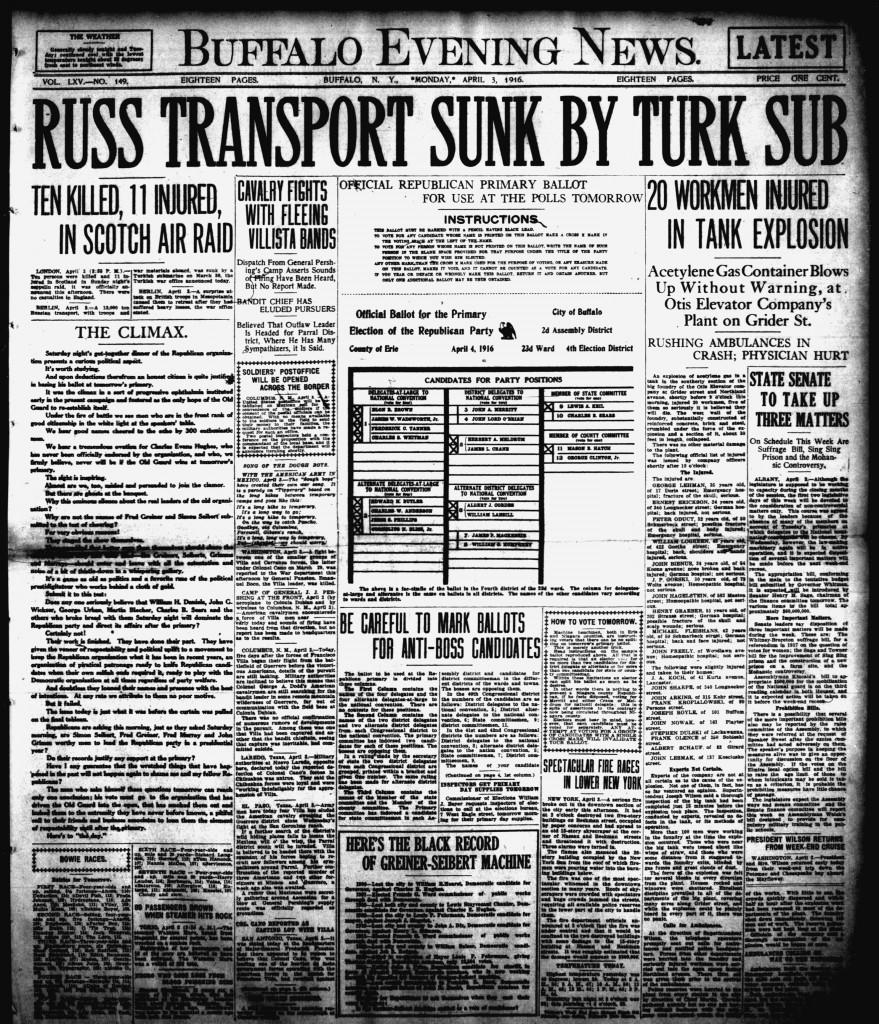 April 3 1916