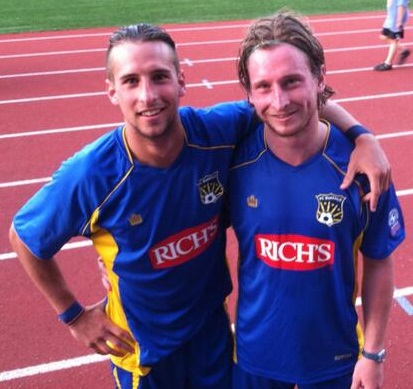 Brothers Chris and Ryan Walter were formerly teammates on FC Buffalo. Chris has been added to the roster for the 2016 season.